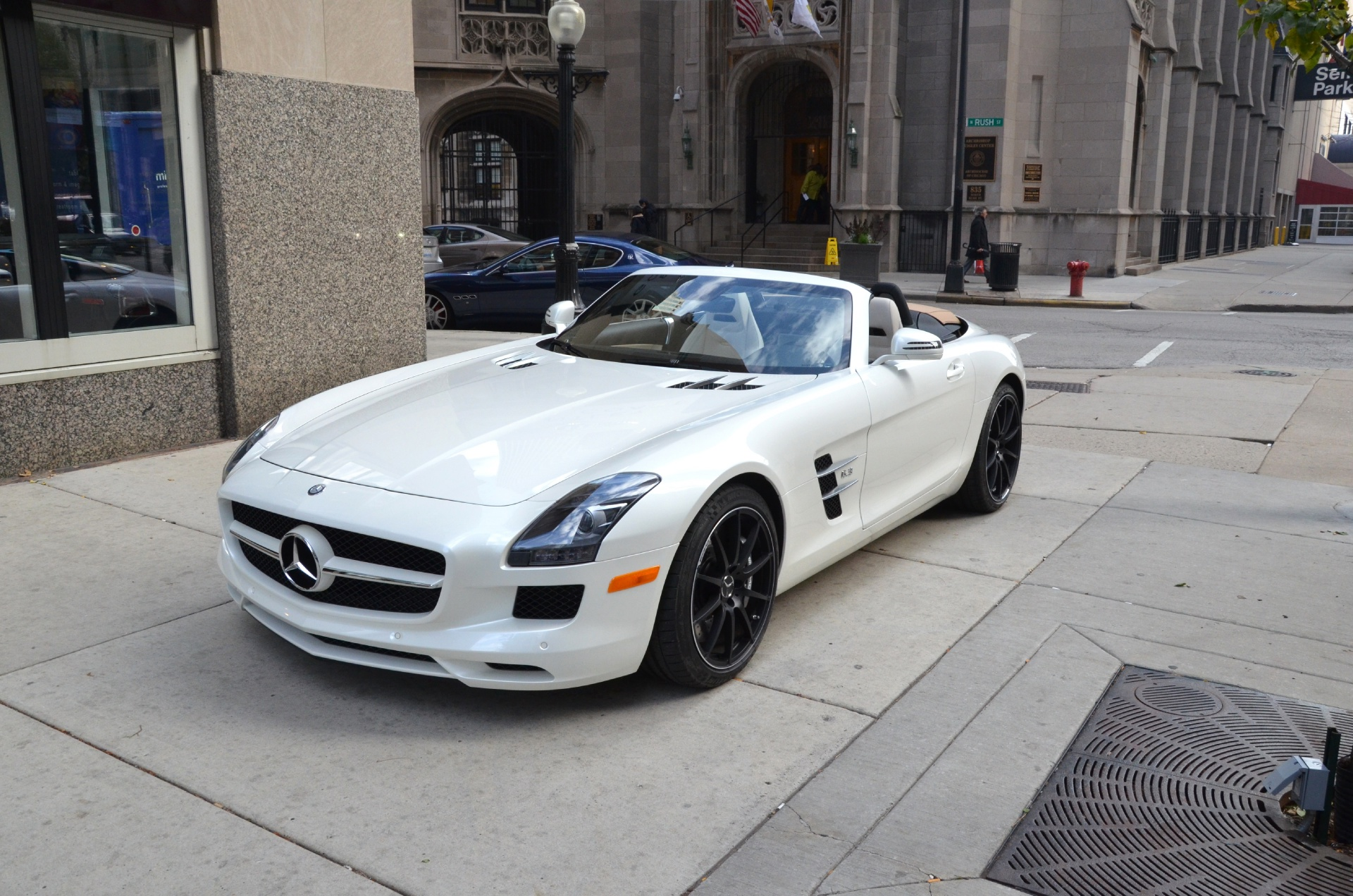 2012 mercedes benz sls class convertible sls amg used for Mercedes benz convertible used