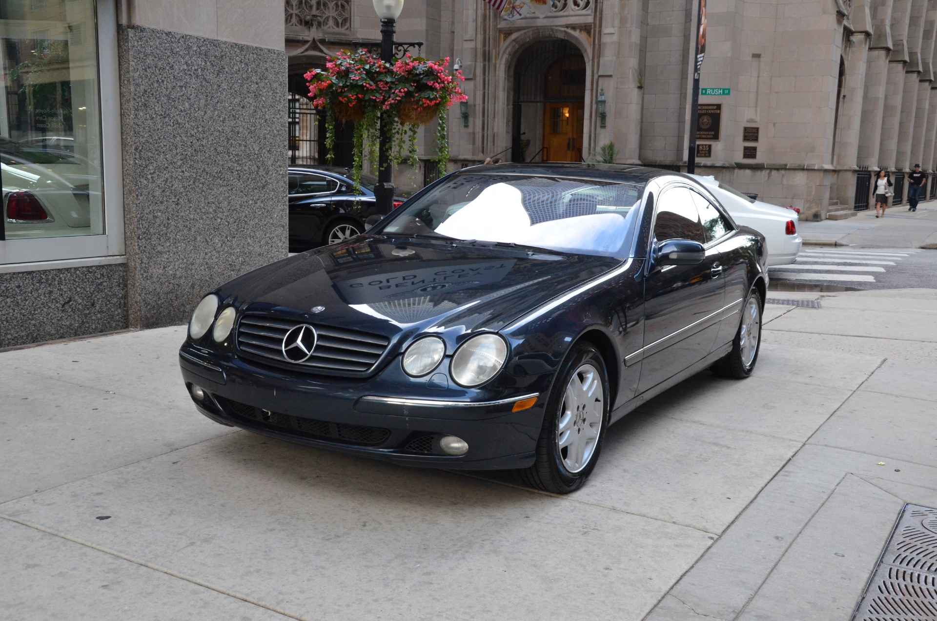 2002 Mercedes Benz Cl Class Cl500 Used Bentley Used