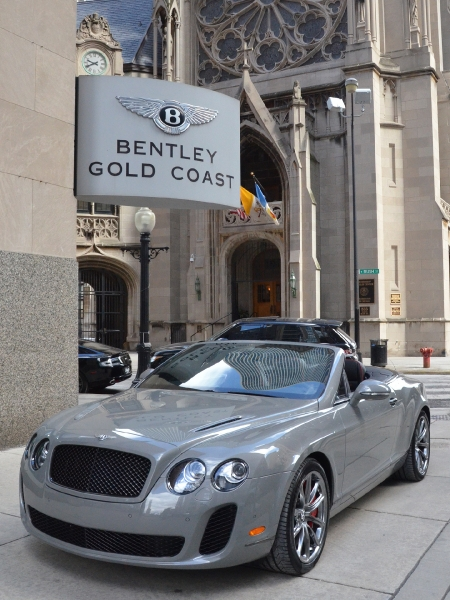 2012 Bentley Continental Supersports Convertible ISR