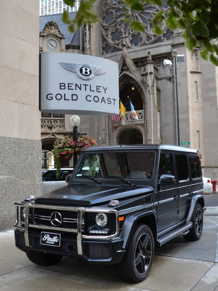 2015 Mercedes-Benz G-Class G63 AMG Brabus Suspension Package