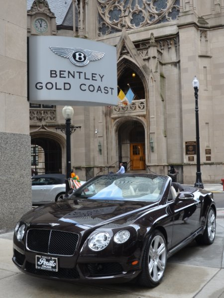 2013 Bentley Continental GTC V8