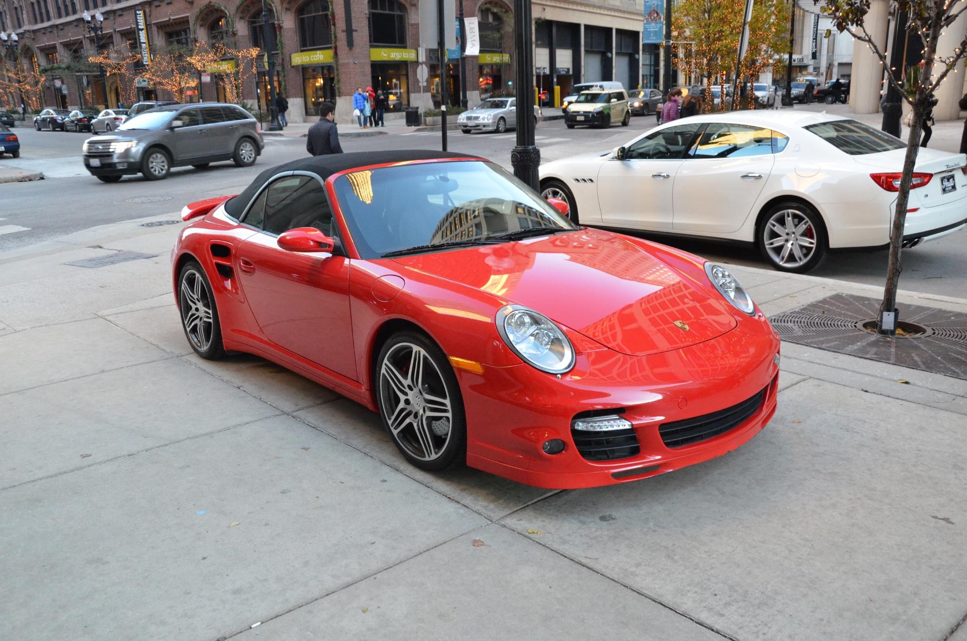 2008 porsche 911 turbo stock b434b for sale near chicago il il porsche dealer. Black Bedroom Furniture Sets. Home Design Ideas