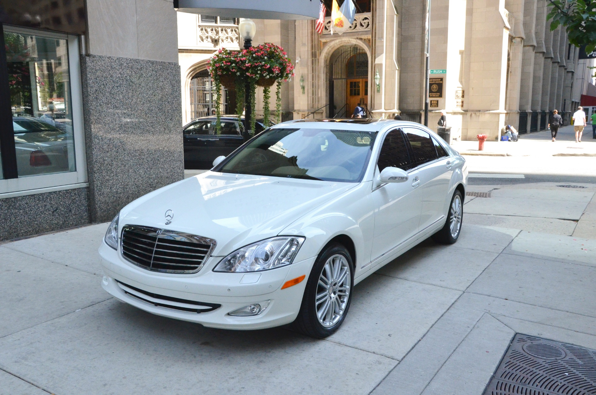 2009 mercedes benz s class s550 4matic stock gc1193a for for White s550 mercedes benz for sale