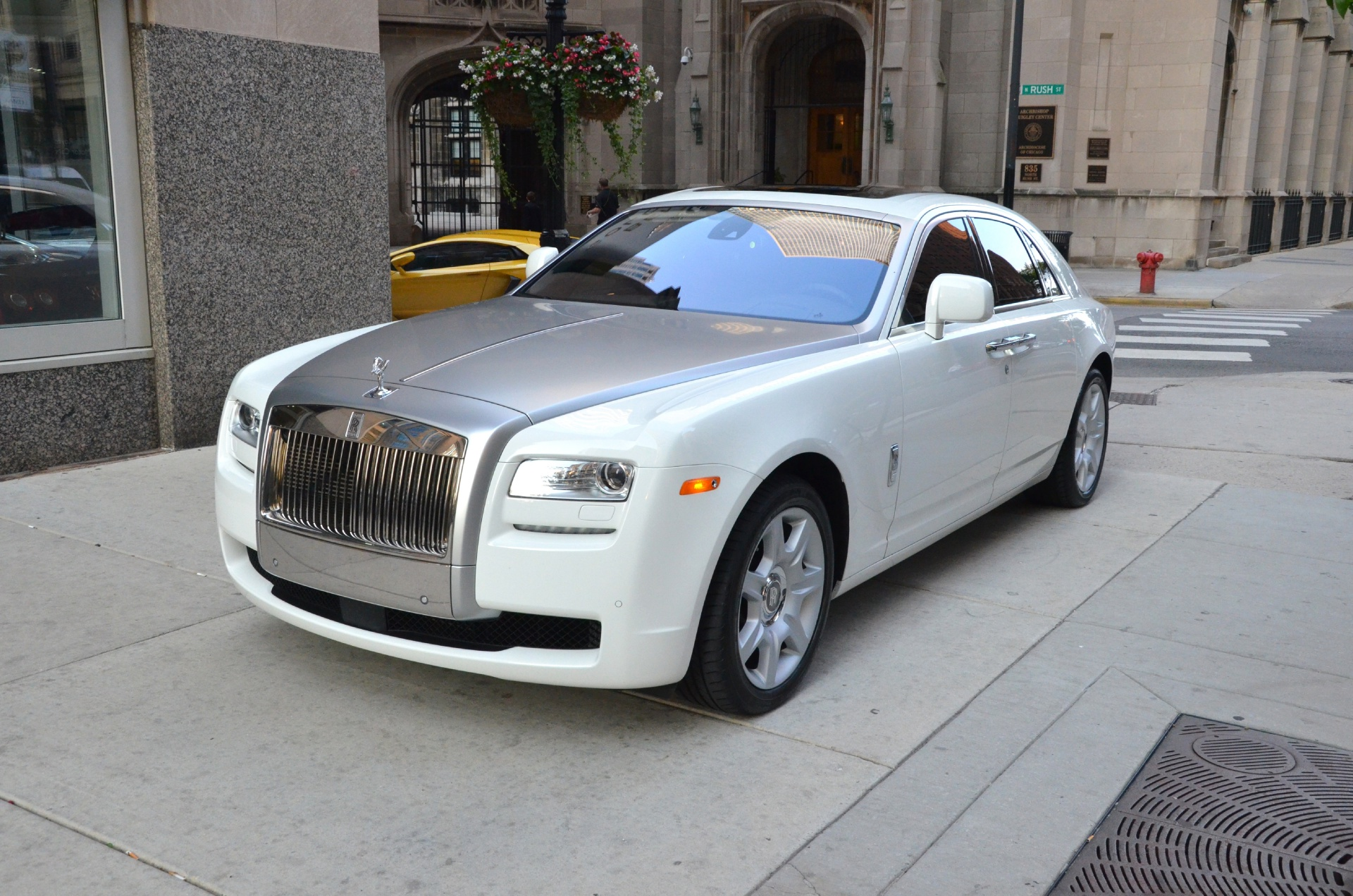 2010 rolls royce ghost stock gc1064b for sale near chicago il il rolls royce dealer. Black Bedroom Furniture Sets. Home Design Ideas