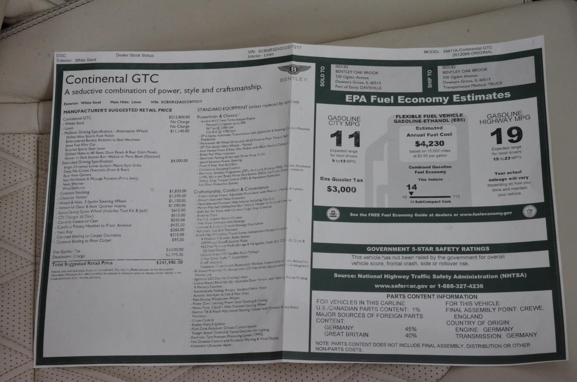 bentley continental gt manual pdf