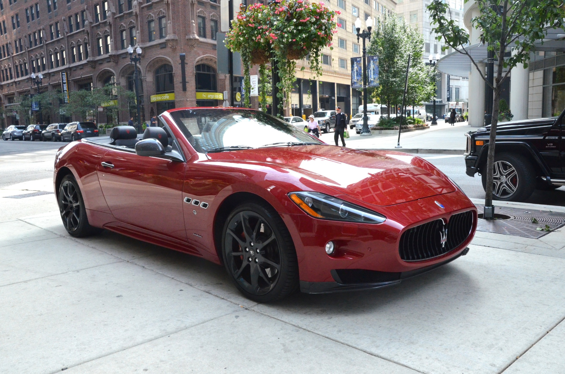 2012 maserati granturismo convertible sport sport stock gc1217a for sale near chicago il il. Black Bedroom Furniture Sets. Home Design Ideas