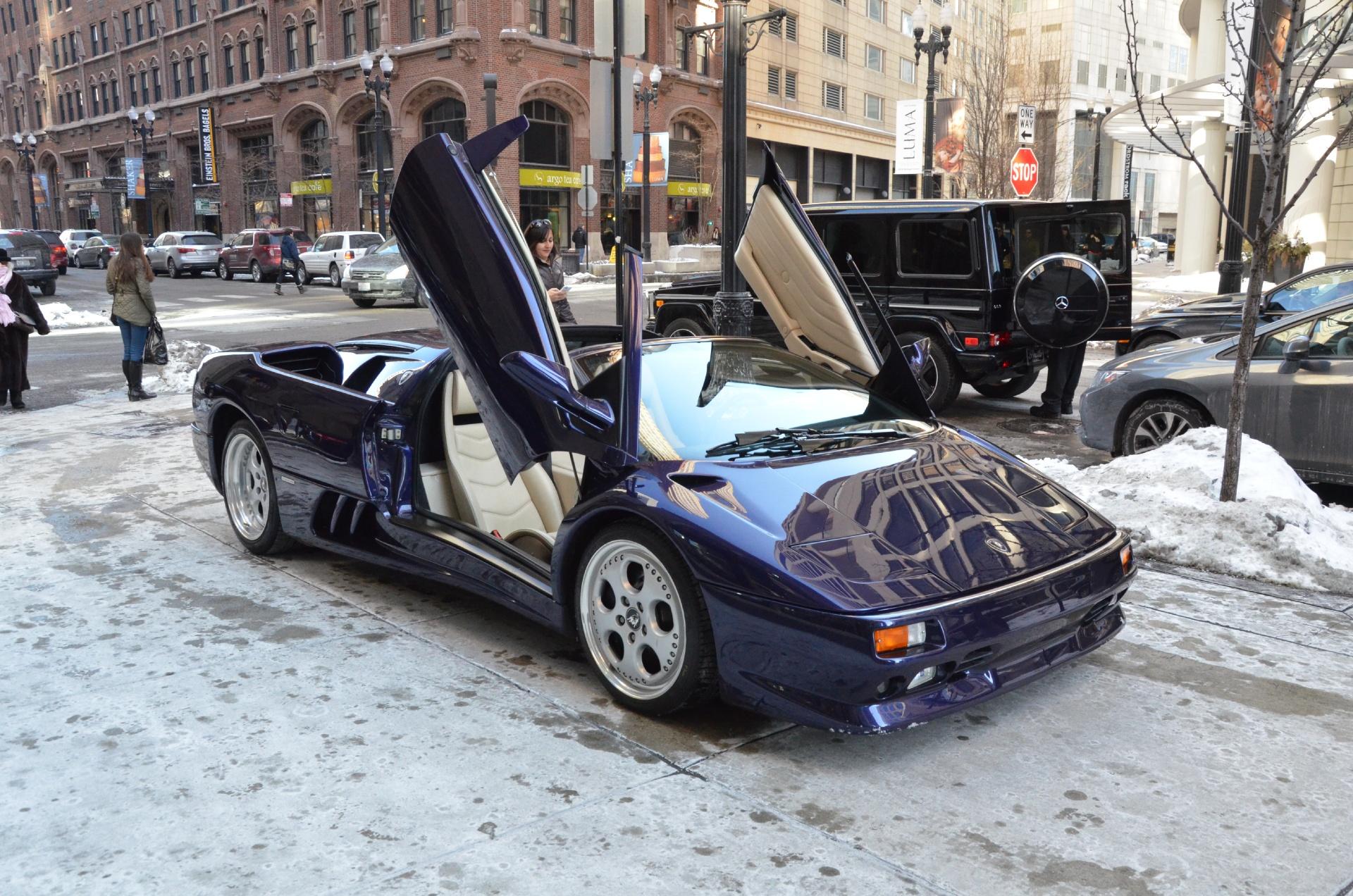 1998 Lamborghini Diablo Stock # 12848 for sale near Chicago, IL | IL on 1998 lamborghini concept, 1998 lamborghini cars, ferrari diablo, 1998 lamborghini murcielago, 1998 lamborghini gallardo, 1998 lamborghini sv,