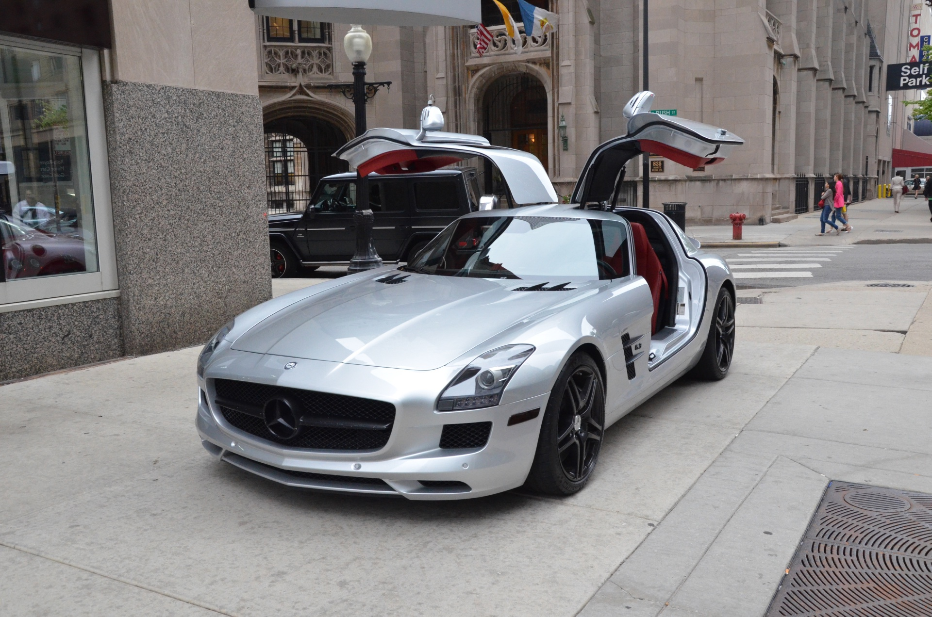 2011 mercedes benz sls class sls amg stock gc1355a for for Mercedes benz of chicago service center chicago il