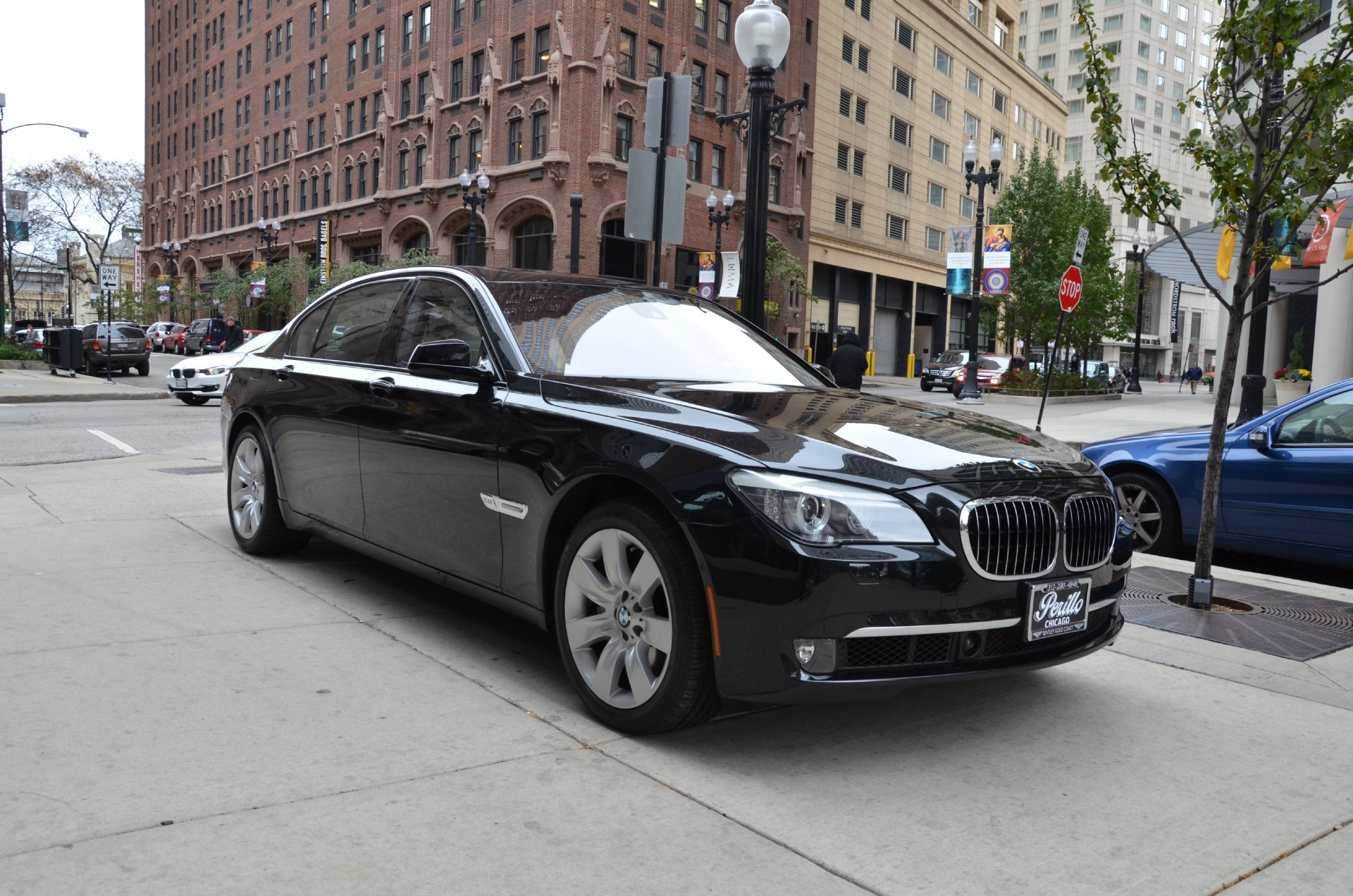 2010 bmw 7 series 760li stock gc898a for sale near chicago il il bmw dealer. Black Bedroom Furniture Sets. Home Design Ideas