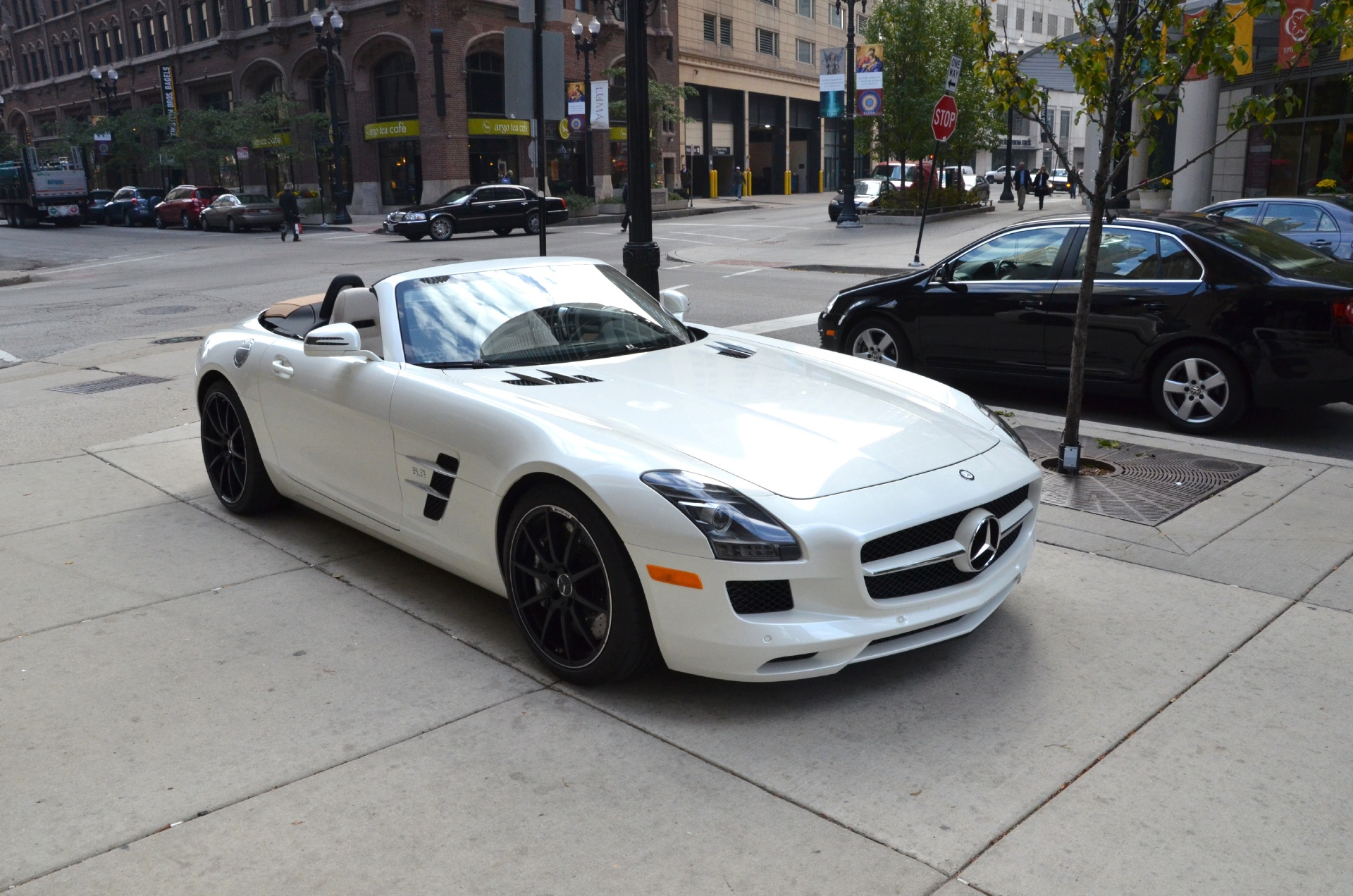 2012 mercedes benz sls class convertible sls amg stock for Used mercedes benz sls amg for sale