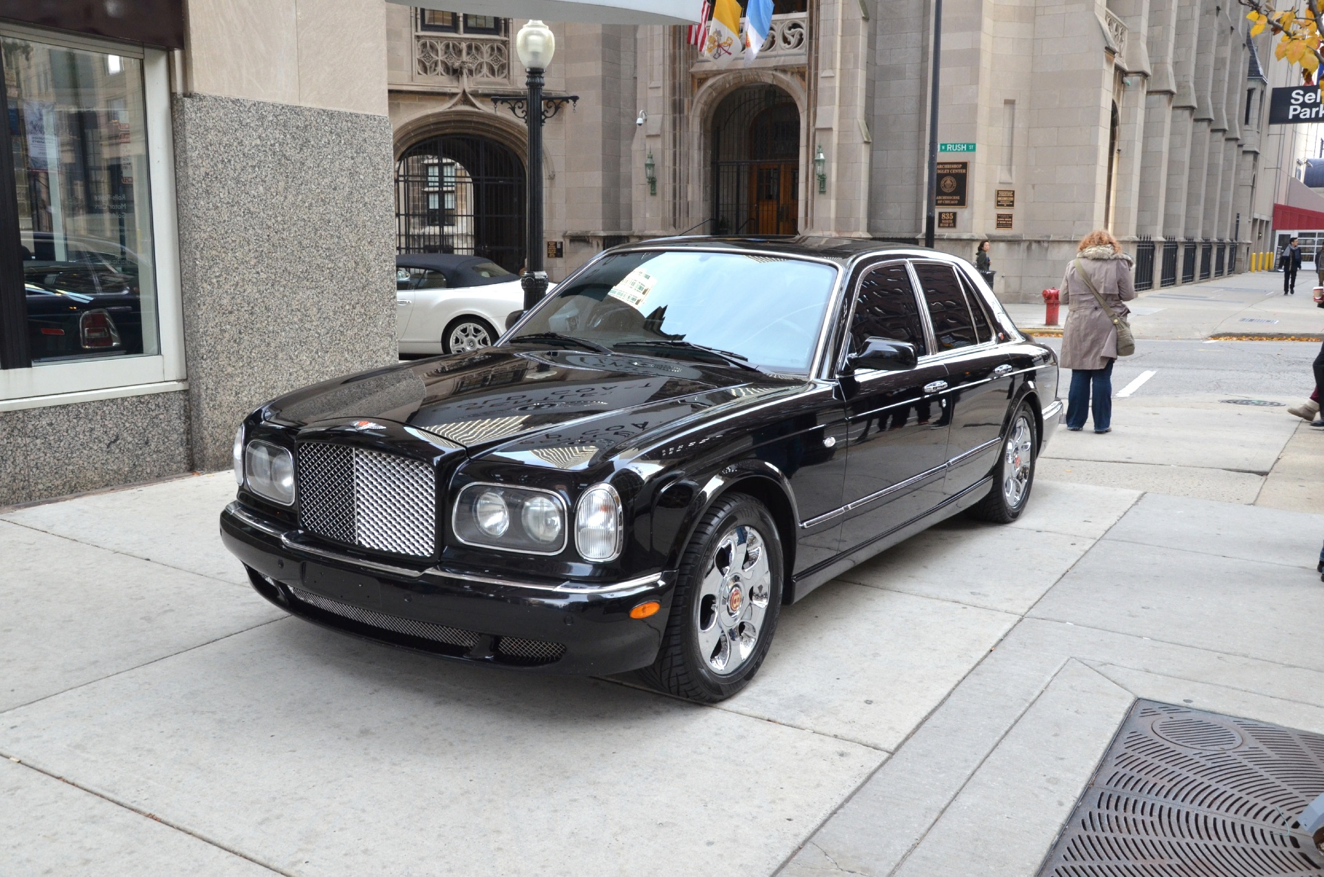 2001 bentley arnage red label stock gc764ab for sale near chicago il il bentley dealer. Black Bedroom Furniture Sets. Home Design Ideas
