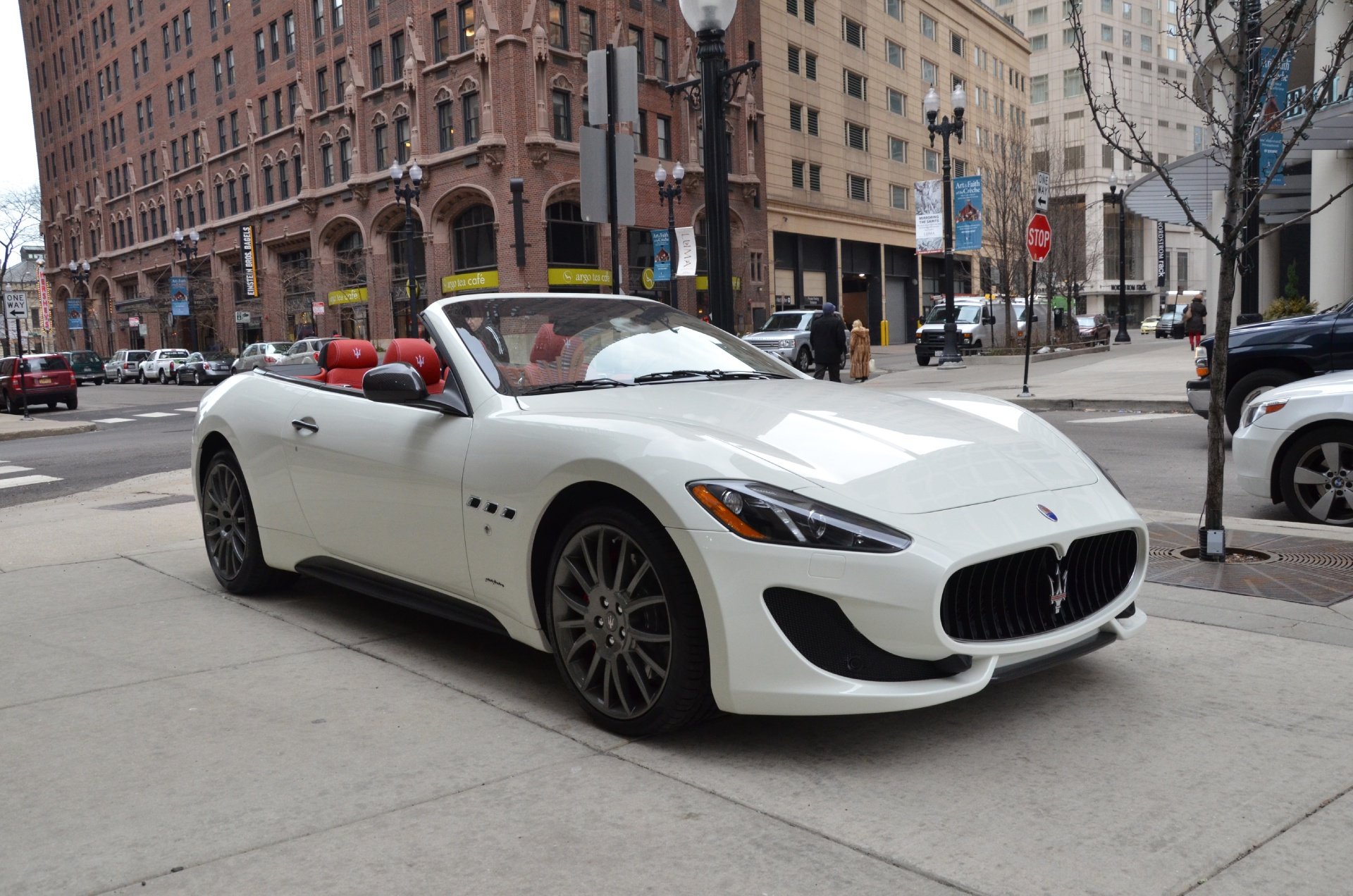 2013 maserati granturismo convertible sport sport stock m092 s for sale near chicago il il. Black Bedroom Furniture Sets. Home Design Ideas