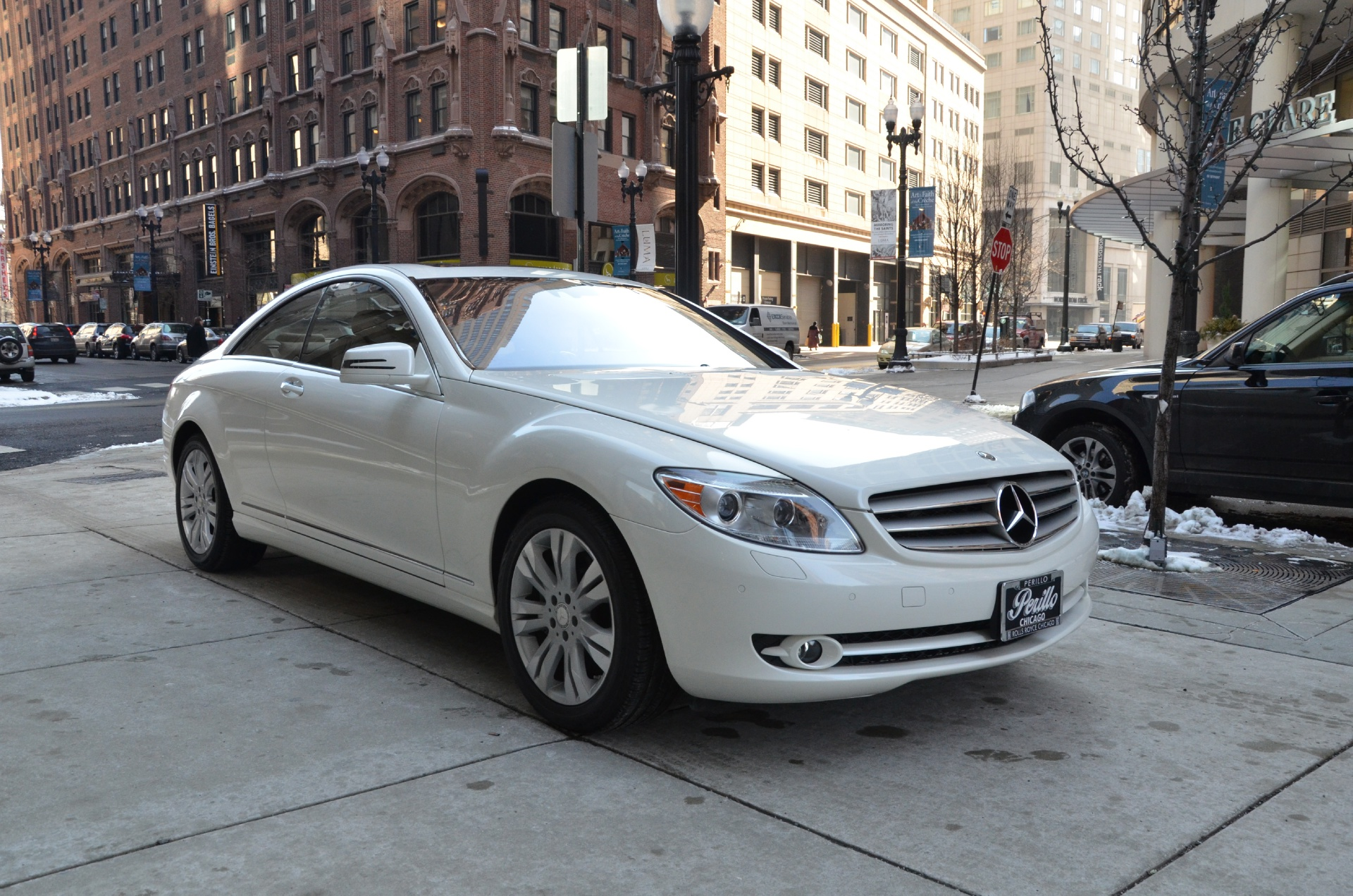 2010 mercedes benz cl class cl550 4matic stock 24181 for for Mercedes benz dealerships in chicago area