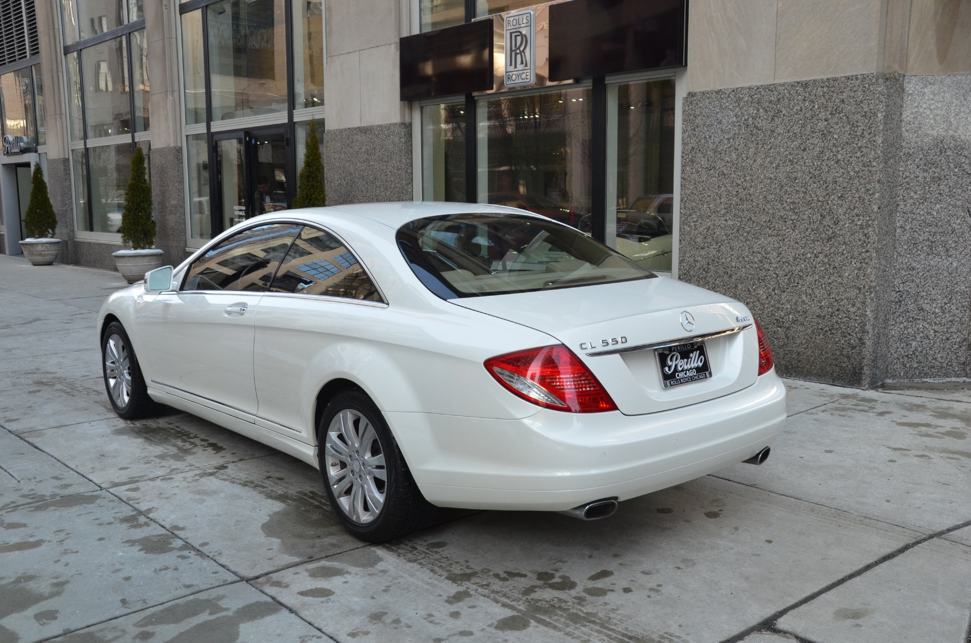 2010 mercedes benz cl class cl550 4matic stock 24181 for for Mercedes benz chicago dealers