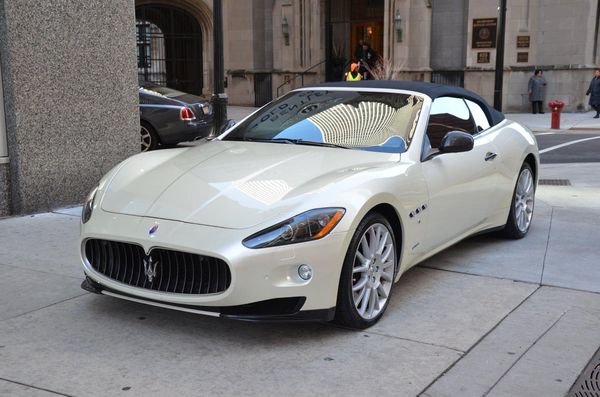 2011 Maserati Granturismo Convertible Stock M159aa For
