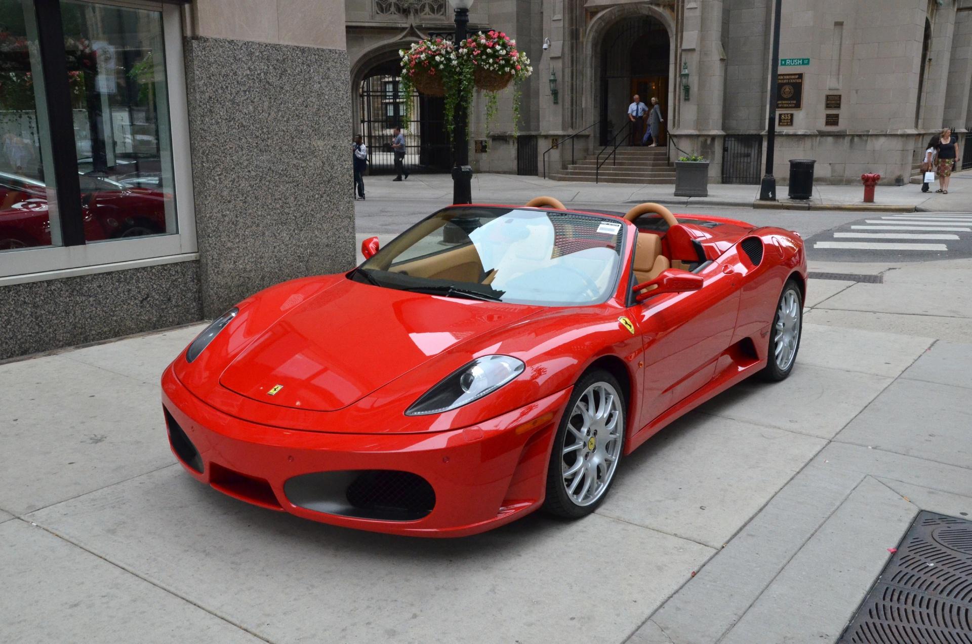 2007 ferrari f430 spider f1 spider stock gc1025a for sale near chicago il il ferrari dealer. Black Bedroom Furniture Sets. Home Design Ideas