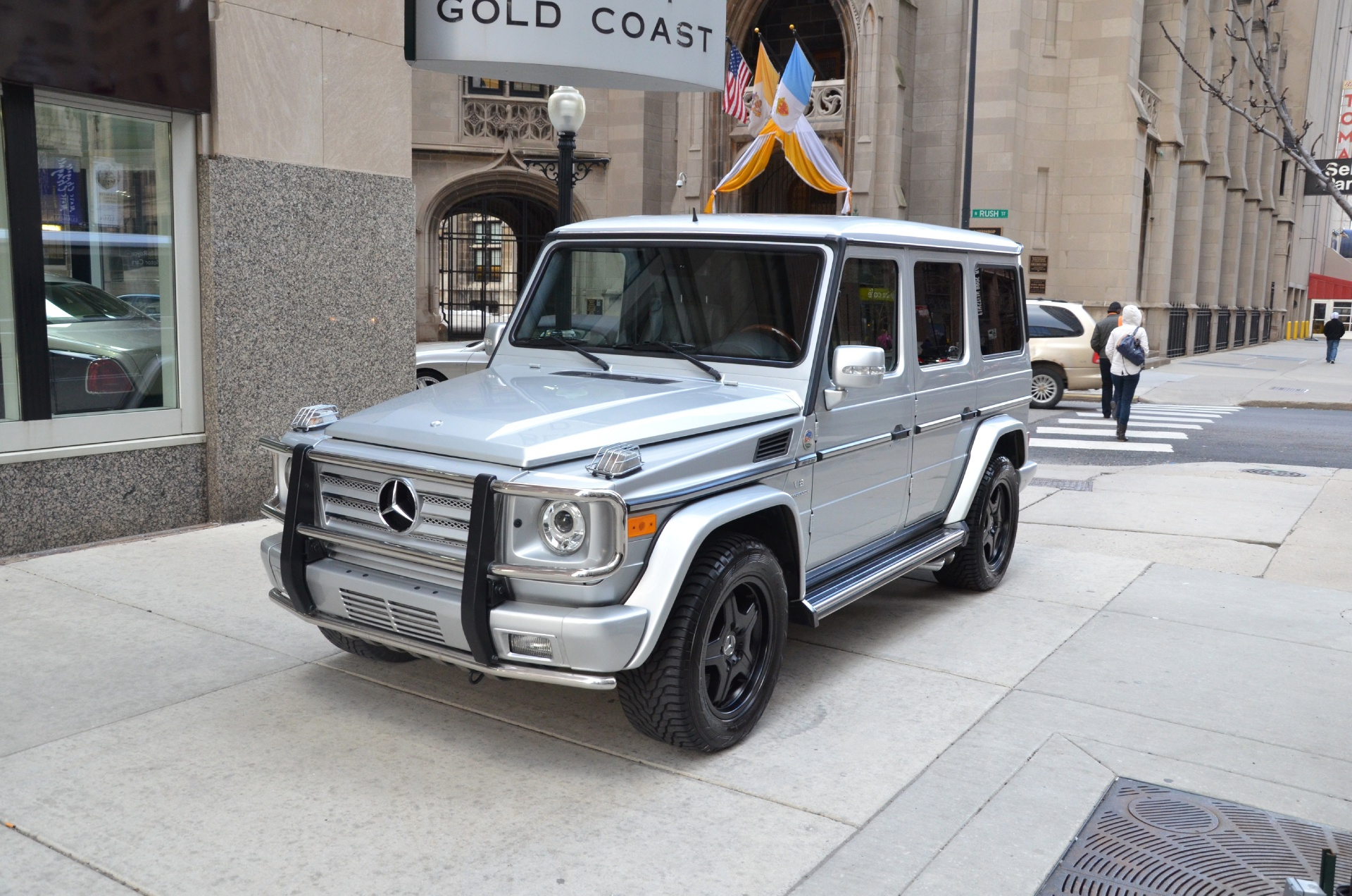 Used 2005 mercedes benz g class g55 amg chicago il