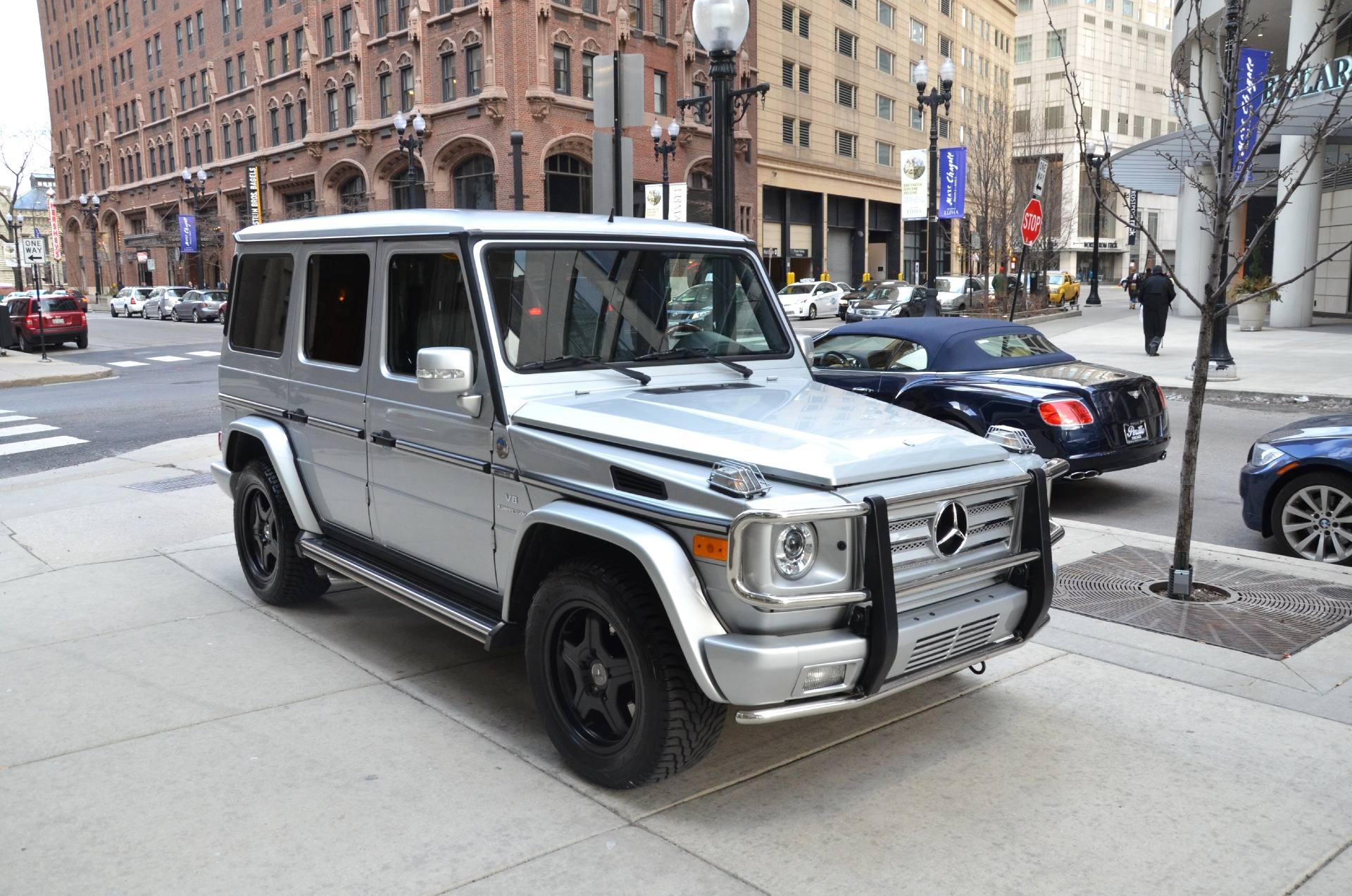 2005 mercedes benz g class g55 amg stock gc780ba for for Mercedes benz chicago il