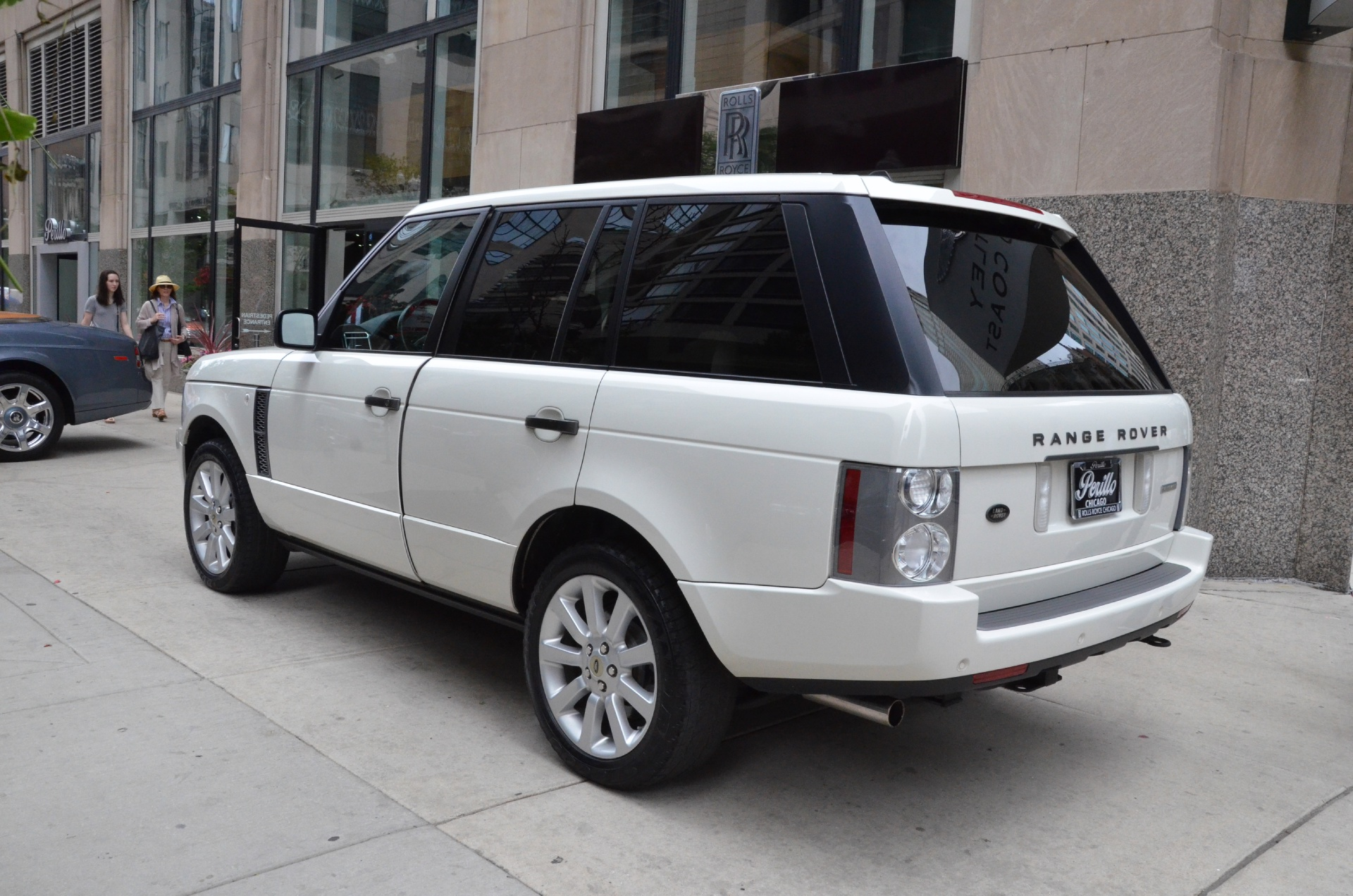 2007 land rover range rover supercharged stock gc1432 for sale near chicago il il land. Black Bedroom Furniture Sets. Home Design Ideas