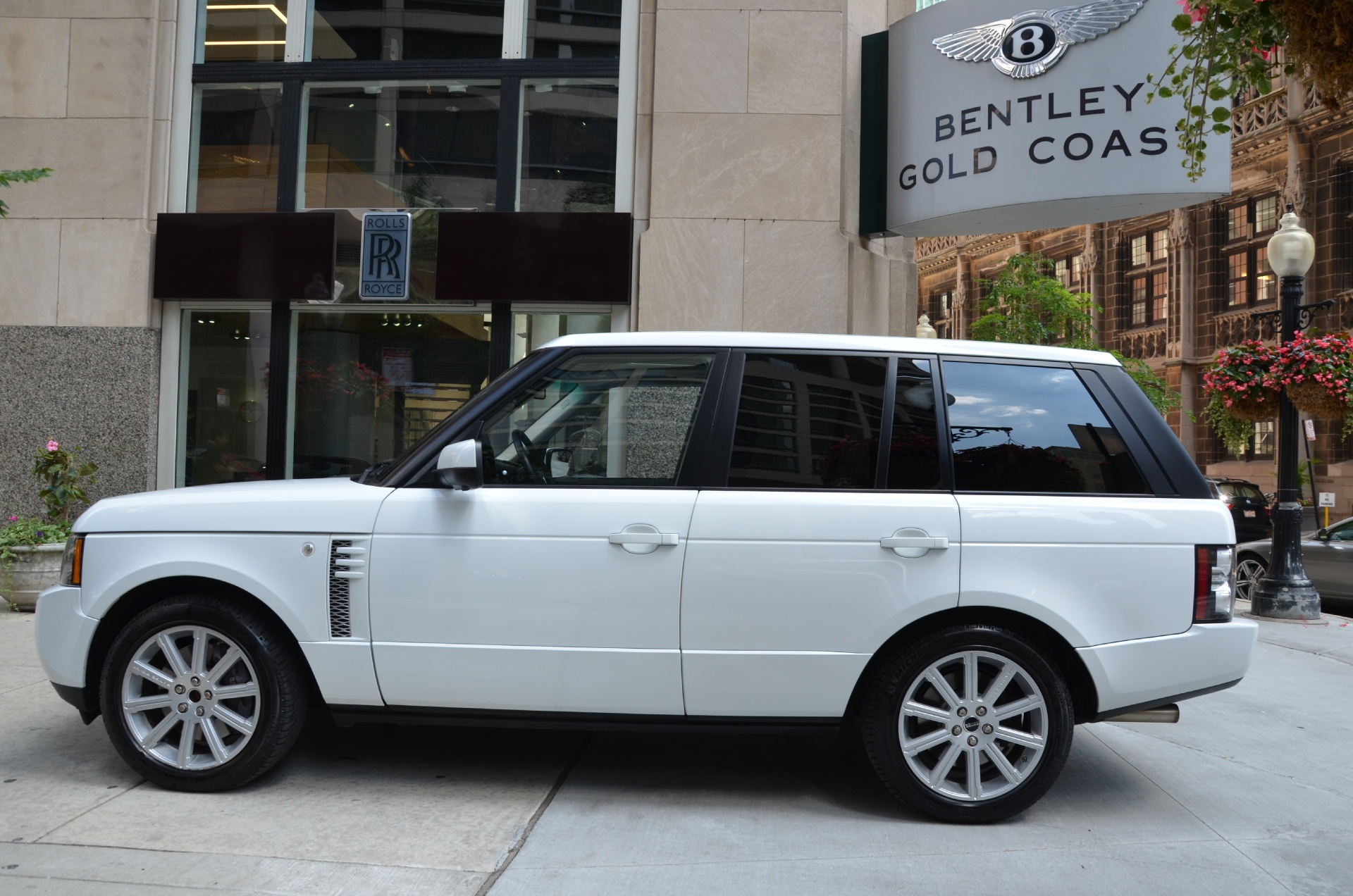 2012 land rover range rover supercharged stock gc1749 for sale near chicago il il land. Black Bedroom Furniture Sets. Home Design Ideas