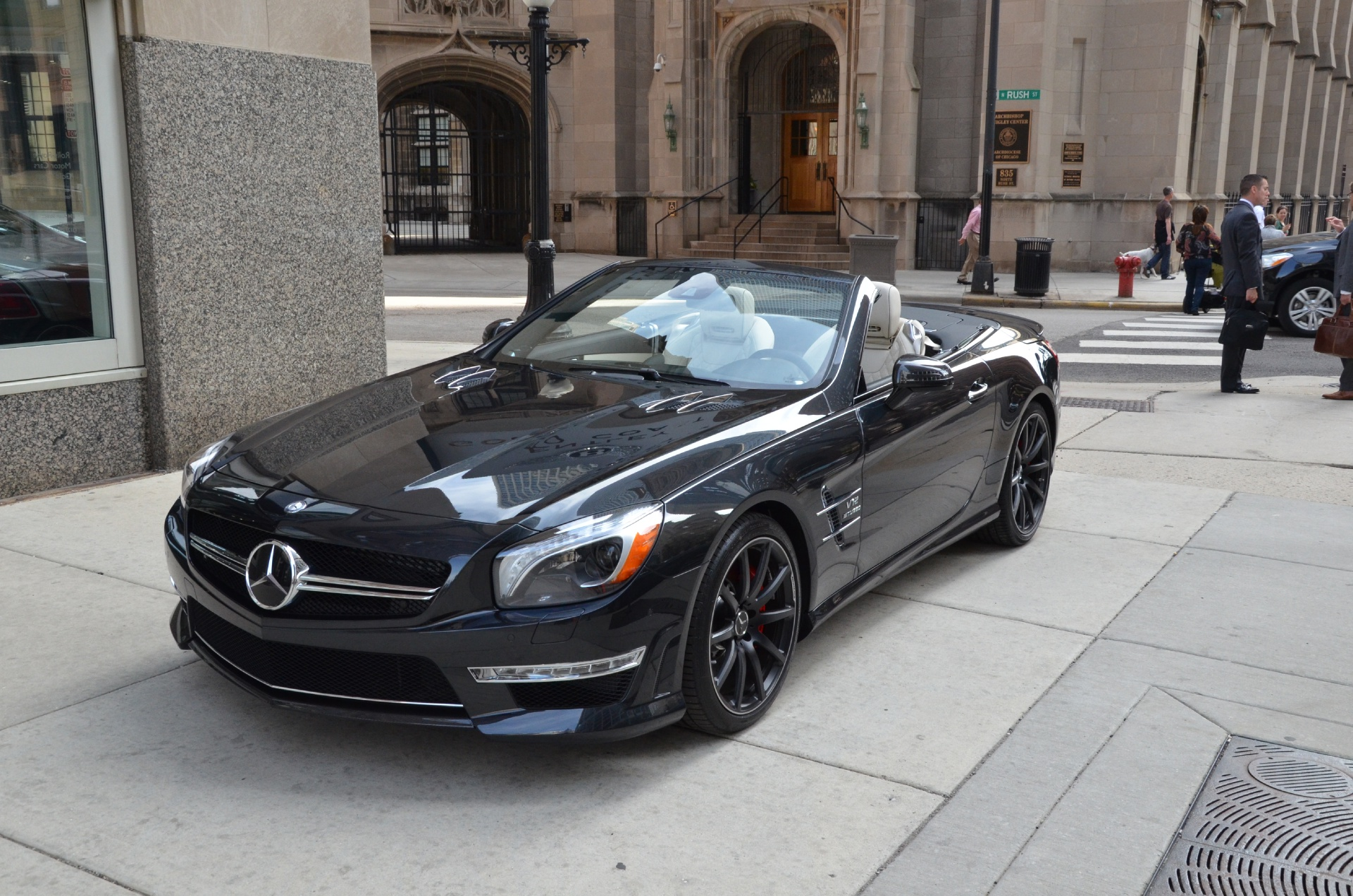 2013 mercedes benz sl class sl65 amg stock gc1287 for for Mercedes benz dealerships in chicago area