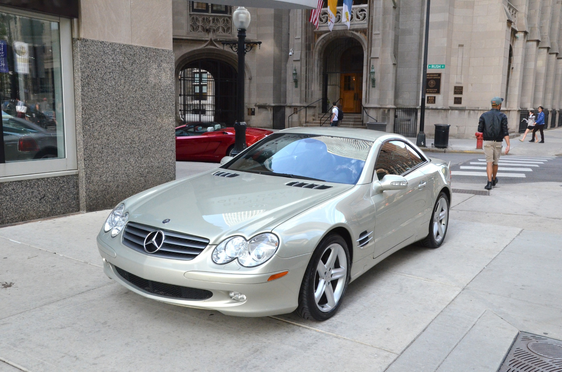 2003 mercedes benz sl class sl500 stock gc1080a for sale for Mercedes benz of chicago service center chicago il