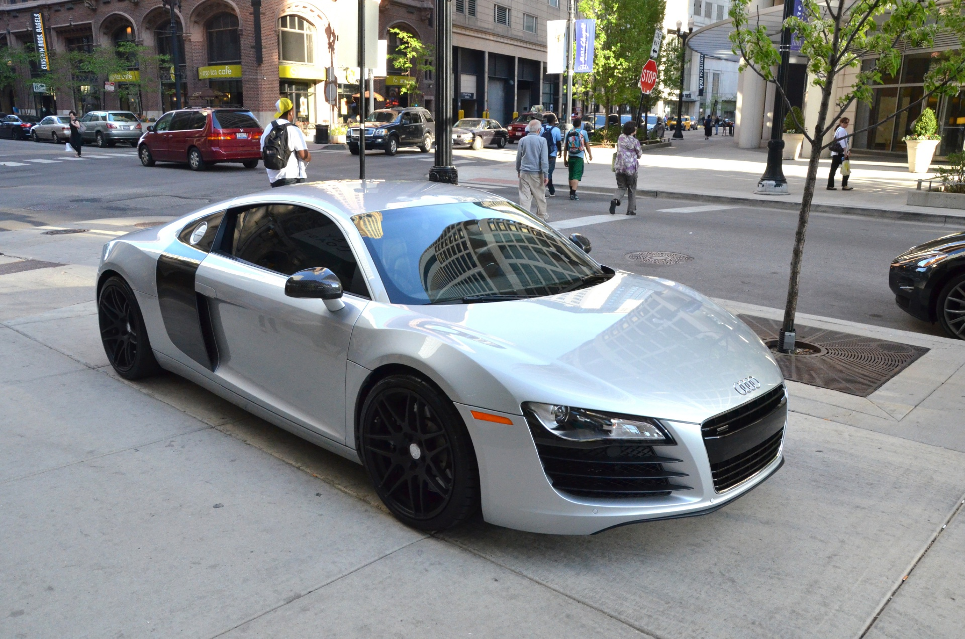 2010 audi r8 4 2 quattro stock gc1147 for sale near. Black Bedroom Furniture Sets. Home Design Ideas