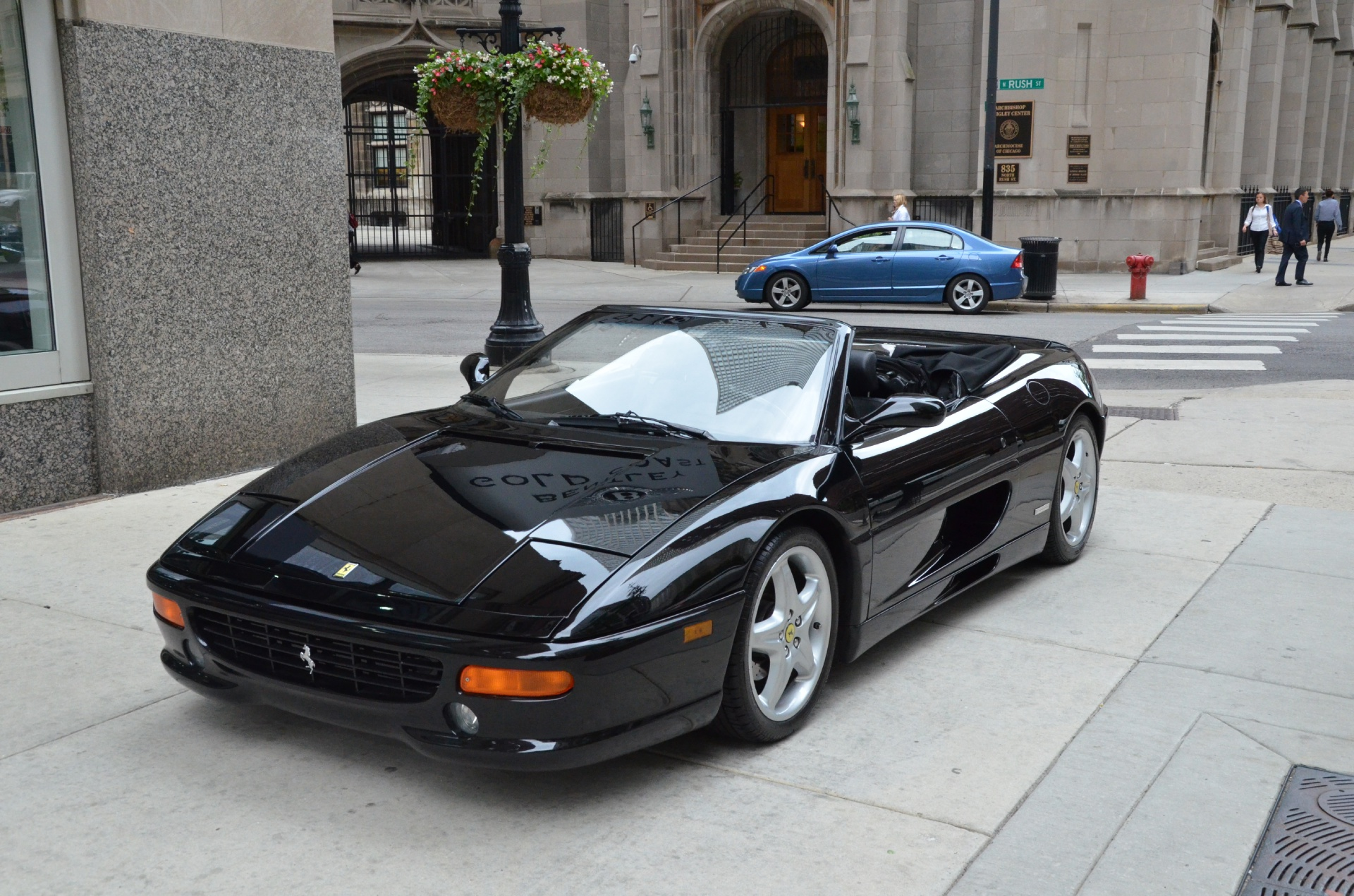 1996 ferrari f355 spider stock b300aaa for sale near. Black Bedroom Furniture Sets. Home Design Ideas