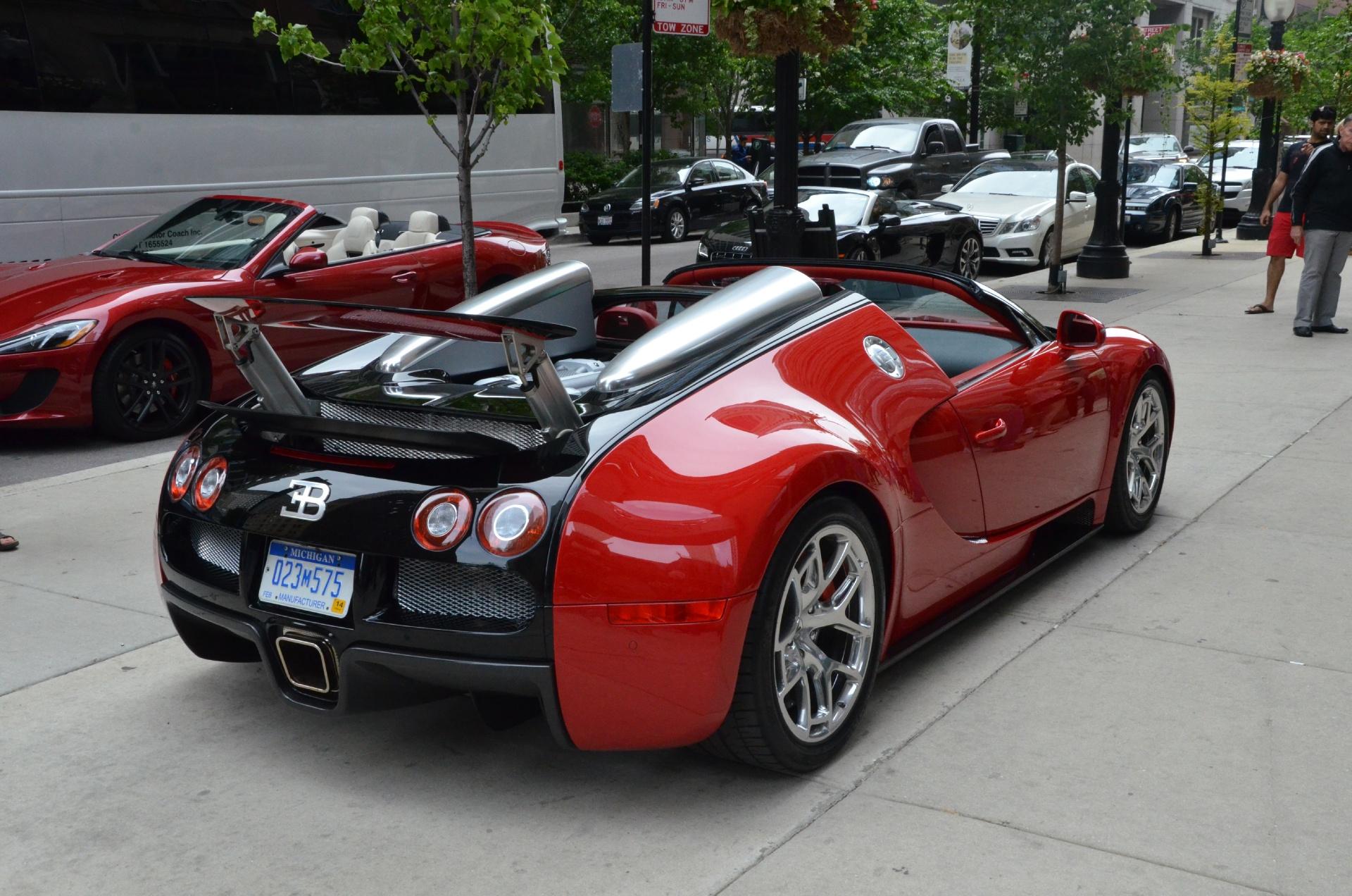 2012 Bugatti Veyron Grand Sport Stock # 95052 for sale near Chicago ...