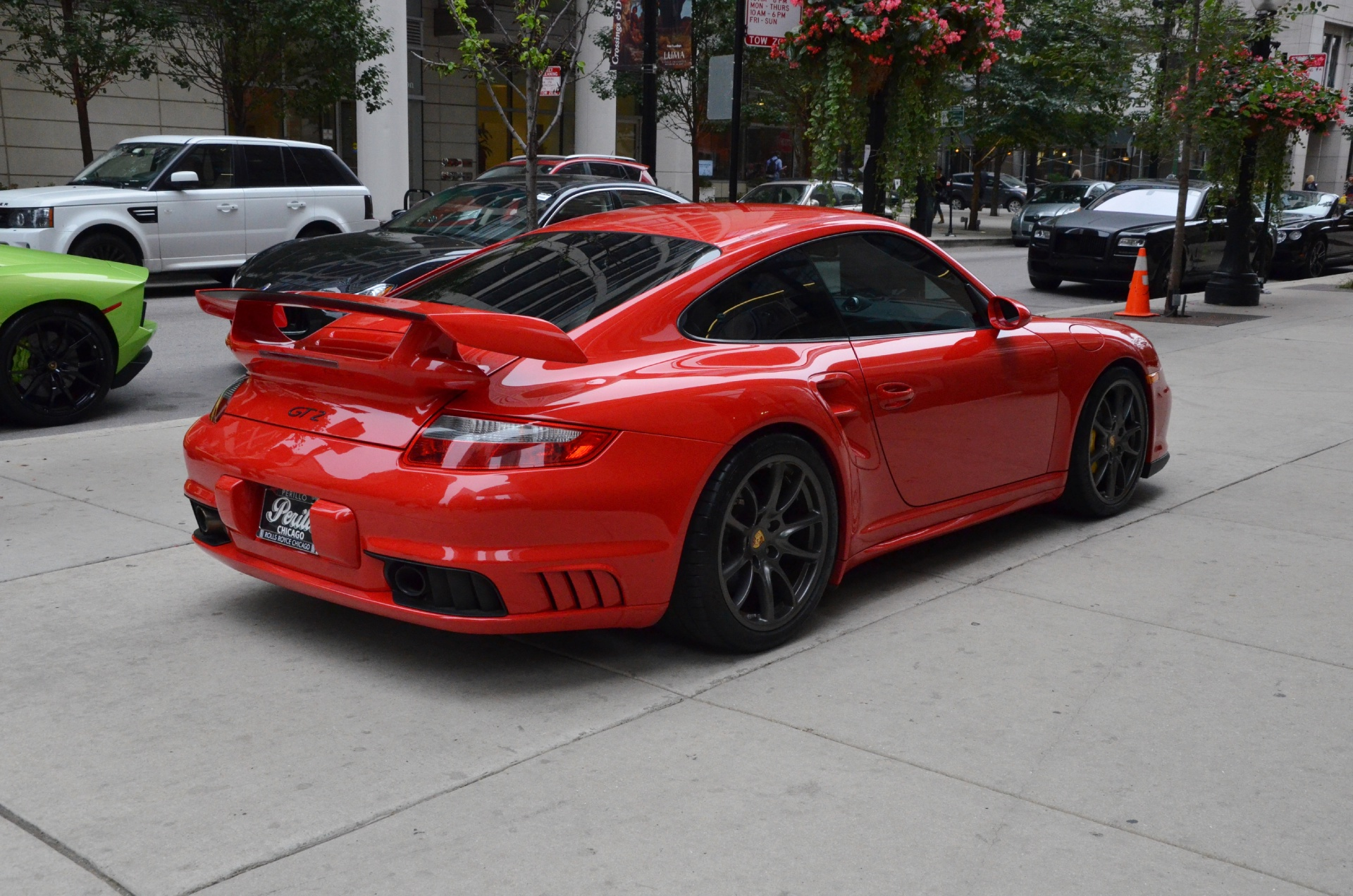 2008 porsche 911 gt2 stock gc1469 for sale near chicago. Black Bedroom Furniture Sets. Home Design Ideas