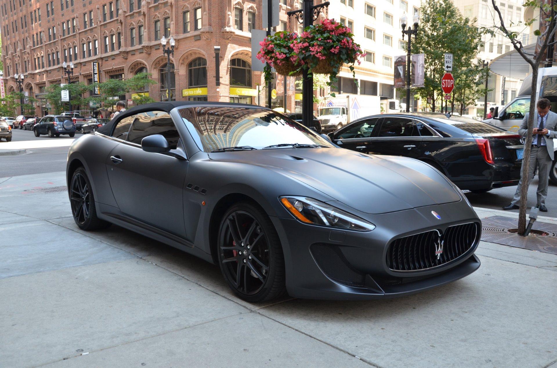 2013 Maserati GranTurismo MC Convertible Sport Stock ...