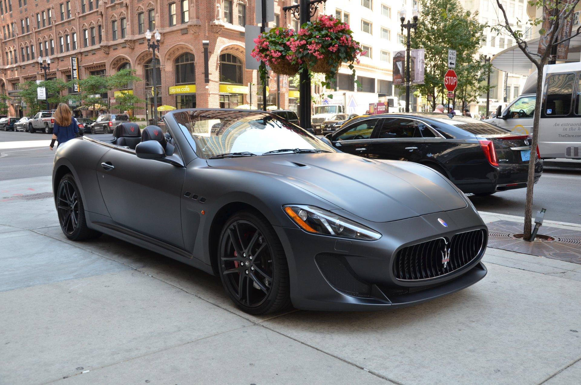 Maserati Granturismo Convertible Mc - Supercars Gallery