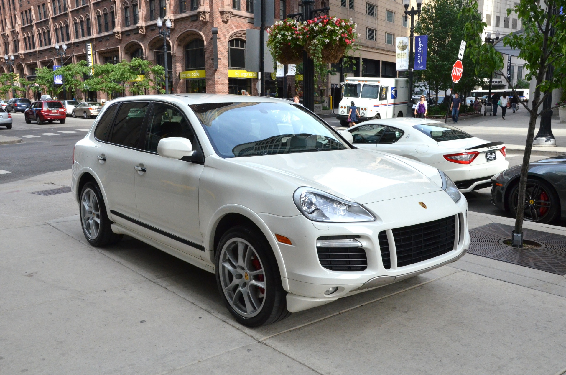 2008 porsche cayenne gts stock gc888aaa for sale near chicago il il porsche dealer. Black Bedroom Furniture Sets. Home Design Ideas