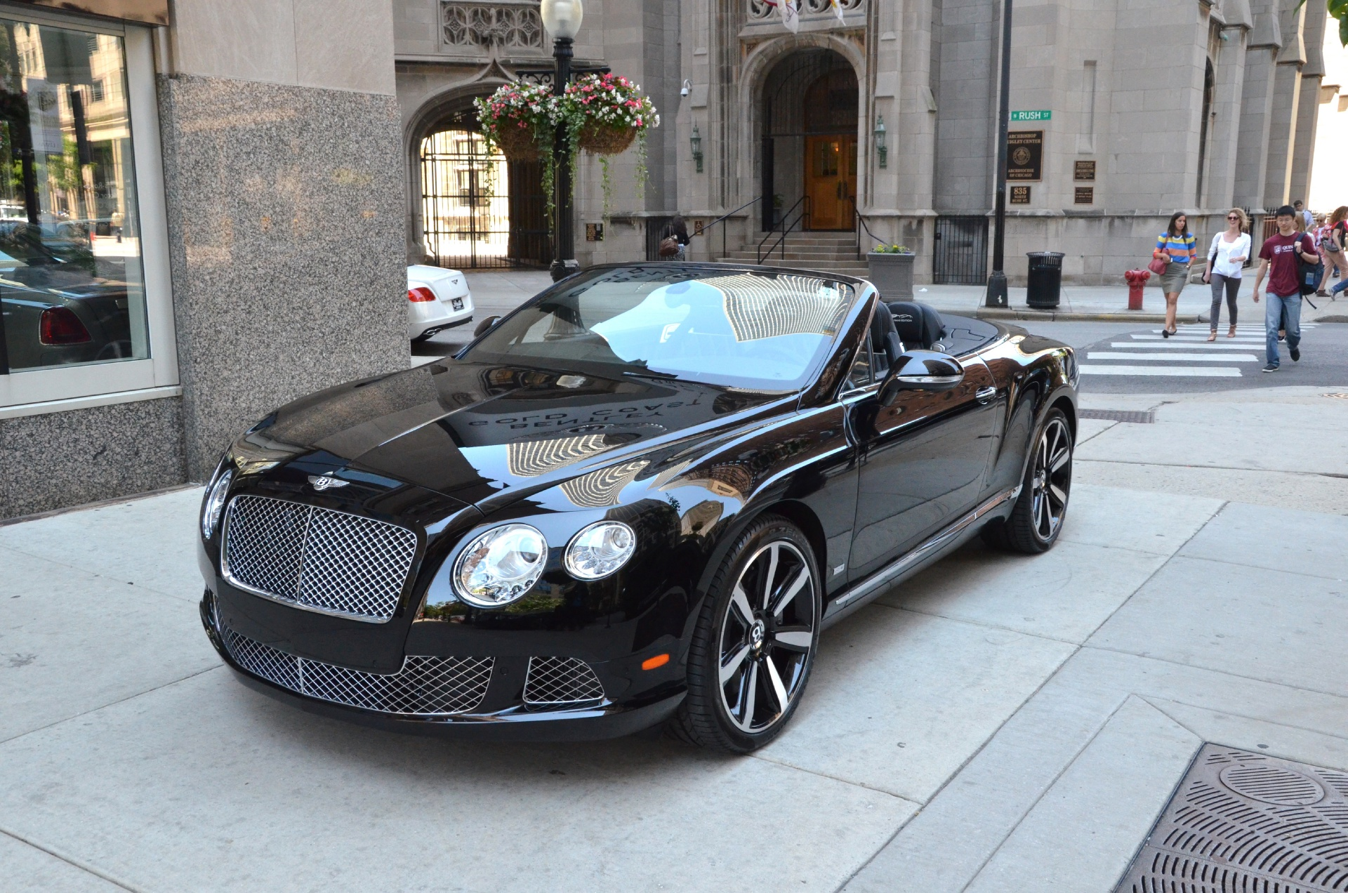 2013 Bentley Continental Gt Convertible Le Mans Edition Stock B453 For Sale Near Chicago Il Il Bentley Dealer