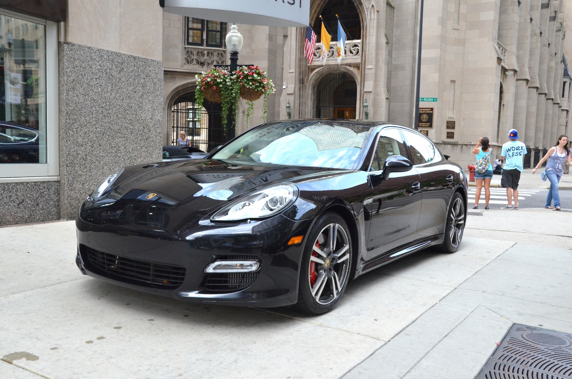 2012 porsche panamera turbo s stock gc1190 for sale near chicago il il porsche dealer. Black Bedroom Furniture Sets. Home Design Ideas