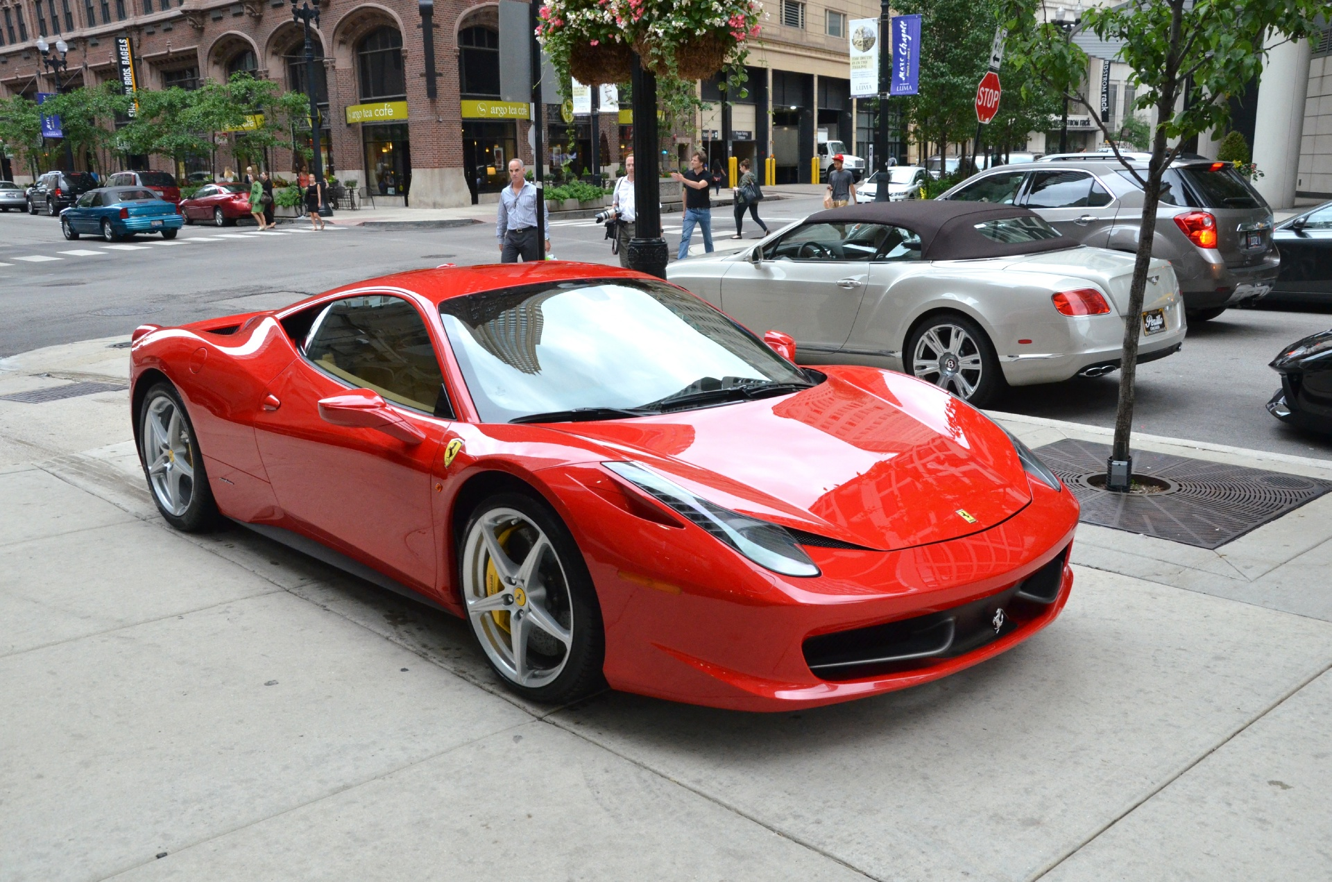 2010 ferrari 458 italia stock gc1163 for sale near chicago il il ferrari dealer. Black Bedroom Furniture Sets. Home Design Ideas