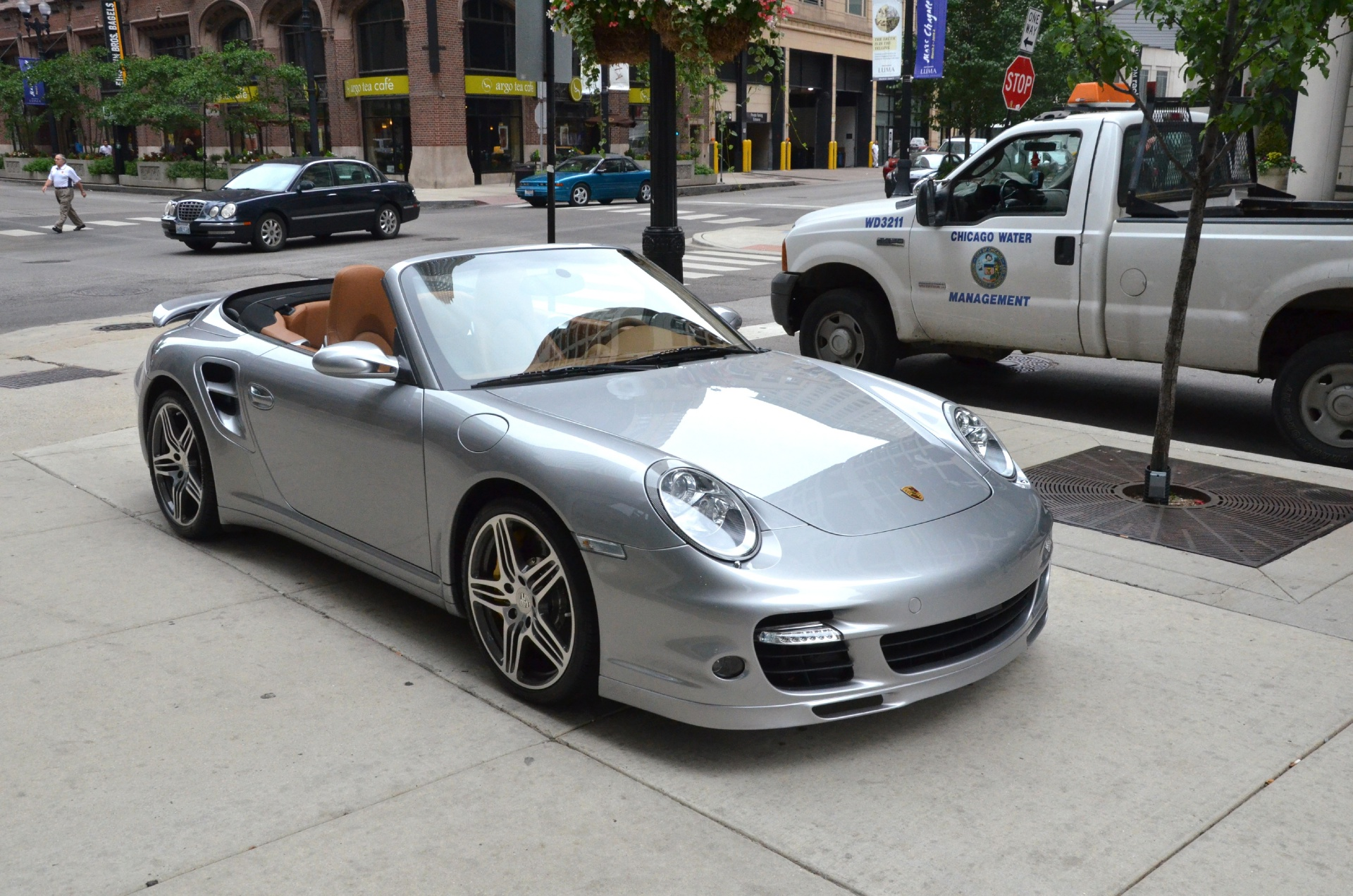 2009 porsche 911 turbo stock gc1143a for sale near. Black Bedroom Furniture Sets. Home Design Ideas