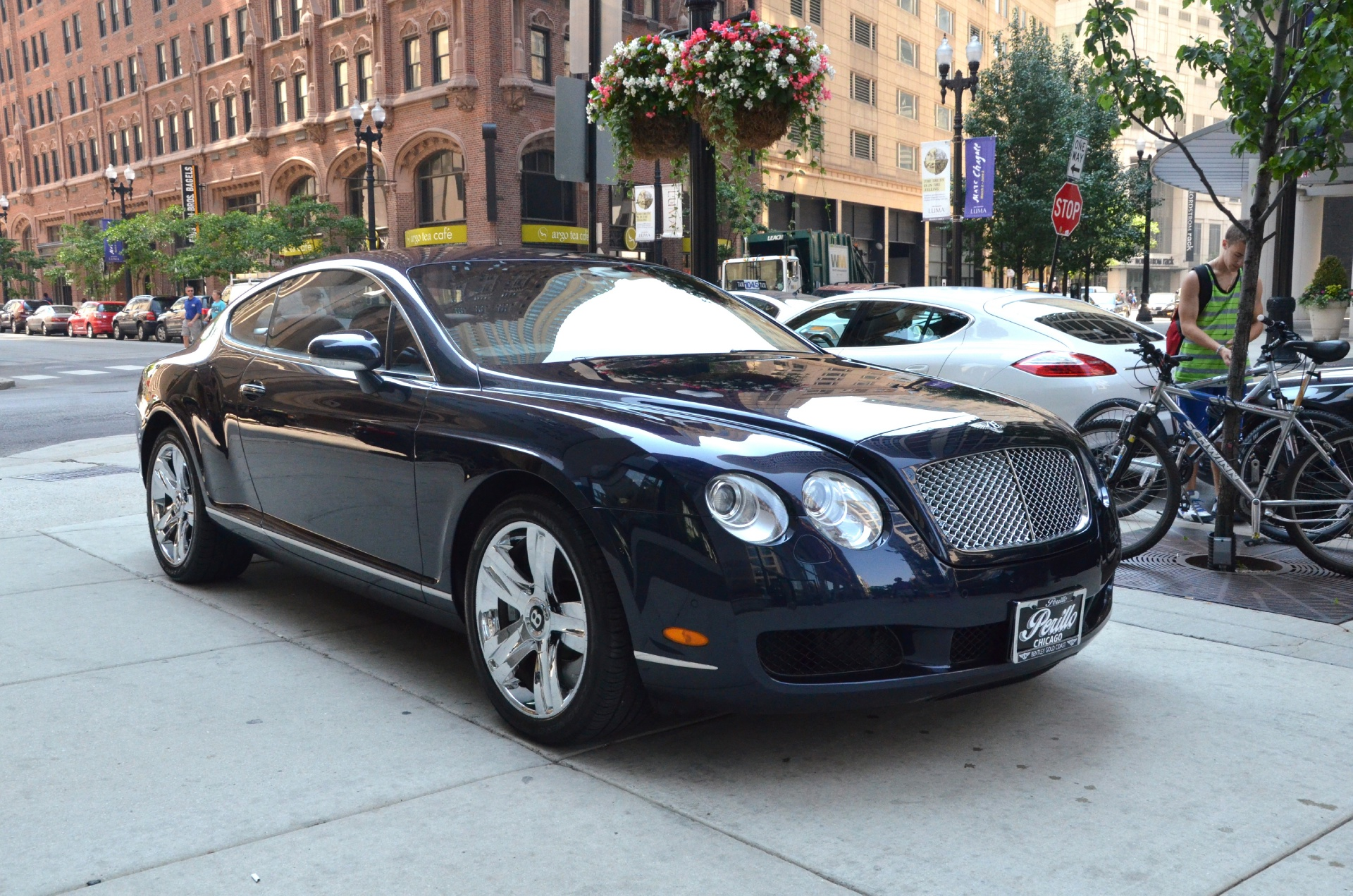 2007 bentley continental gt stock b447a for sale near chicago il il bentley dealer. Black Bedroom Furniture Sets. Home Design Ideas