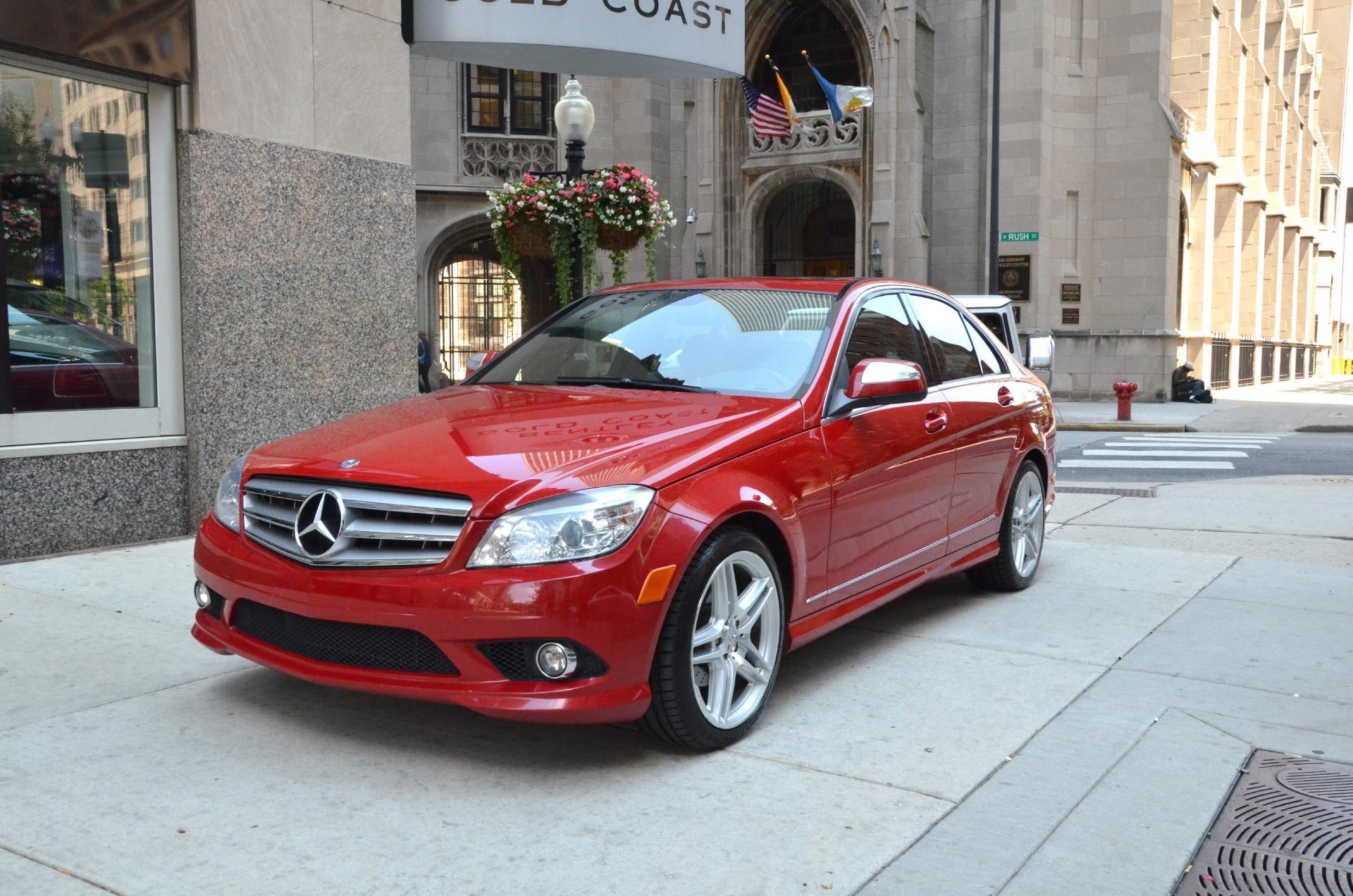 2008 mercedes benz c class c300 luxury stock gc1139ba for Mercedes benz dealers in chicago
