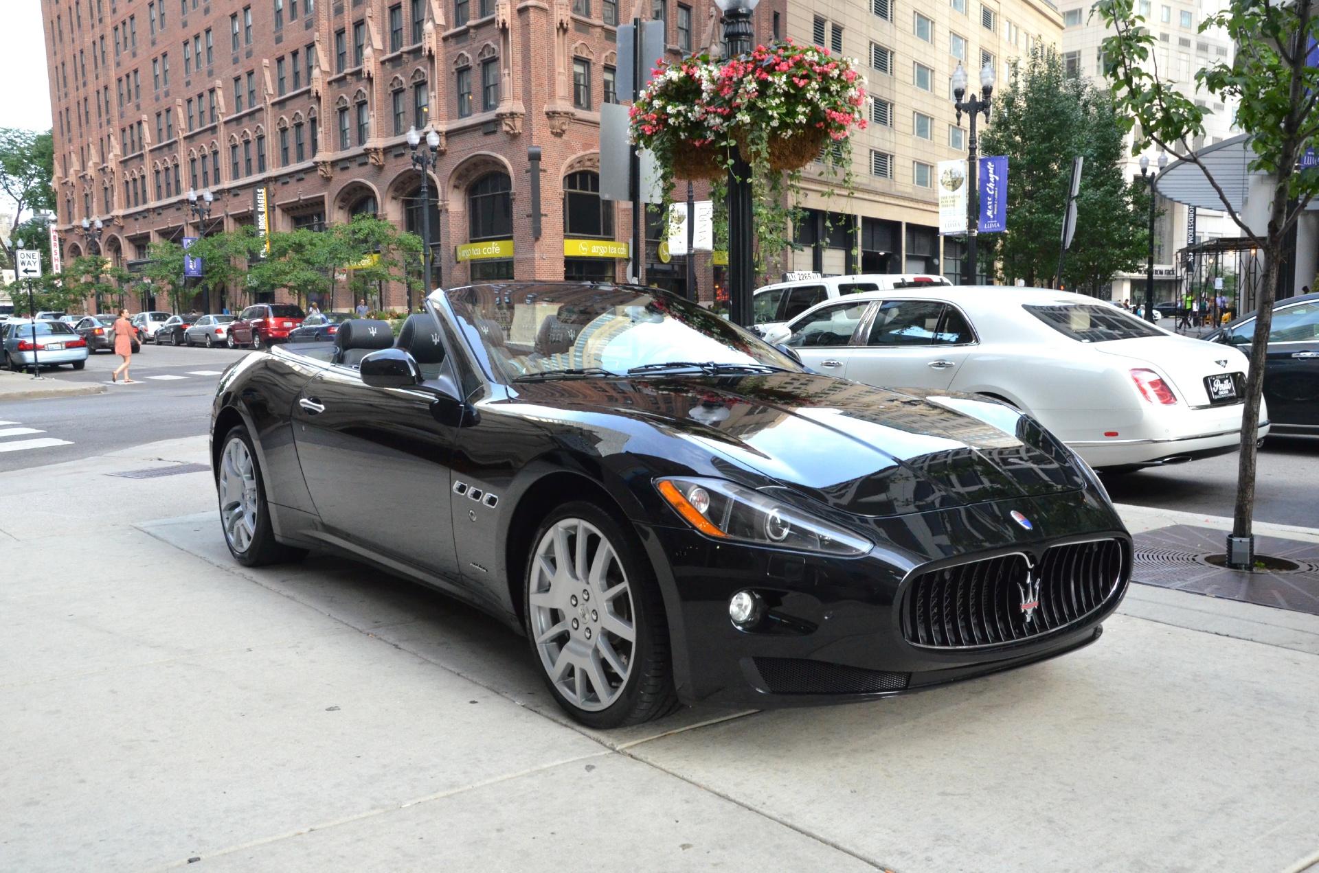 2012 maserati granturismo convertible stock b381aa for sale near chicago il il maserati dealer. Black Bedroom Furniture Sets. Home Design Ideas