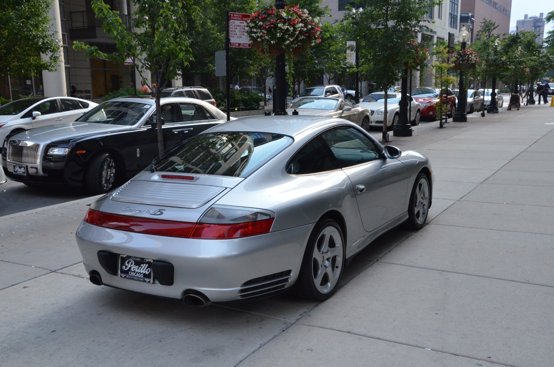 2003 porsche 911 carrera 4s stock gc1208 for sale near chicago il il porsche dealer. Black Bedroom Furniture Sets. Home Design Ideas