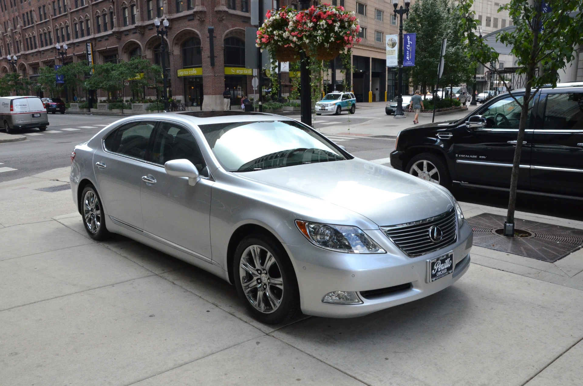 2007 lexus ls 460 l stock gc1167a for sale near chicago il il lexus dealer. Black Bedroom Furniture Sets. Home Design Ideas