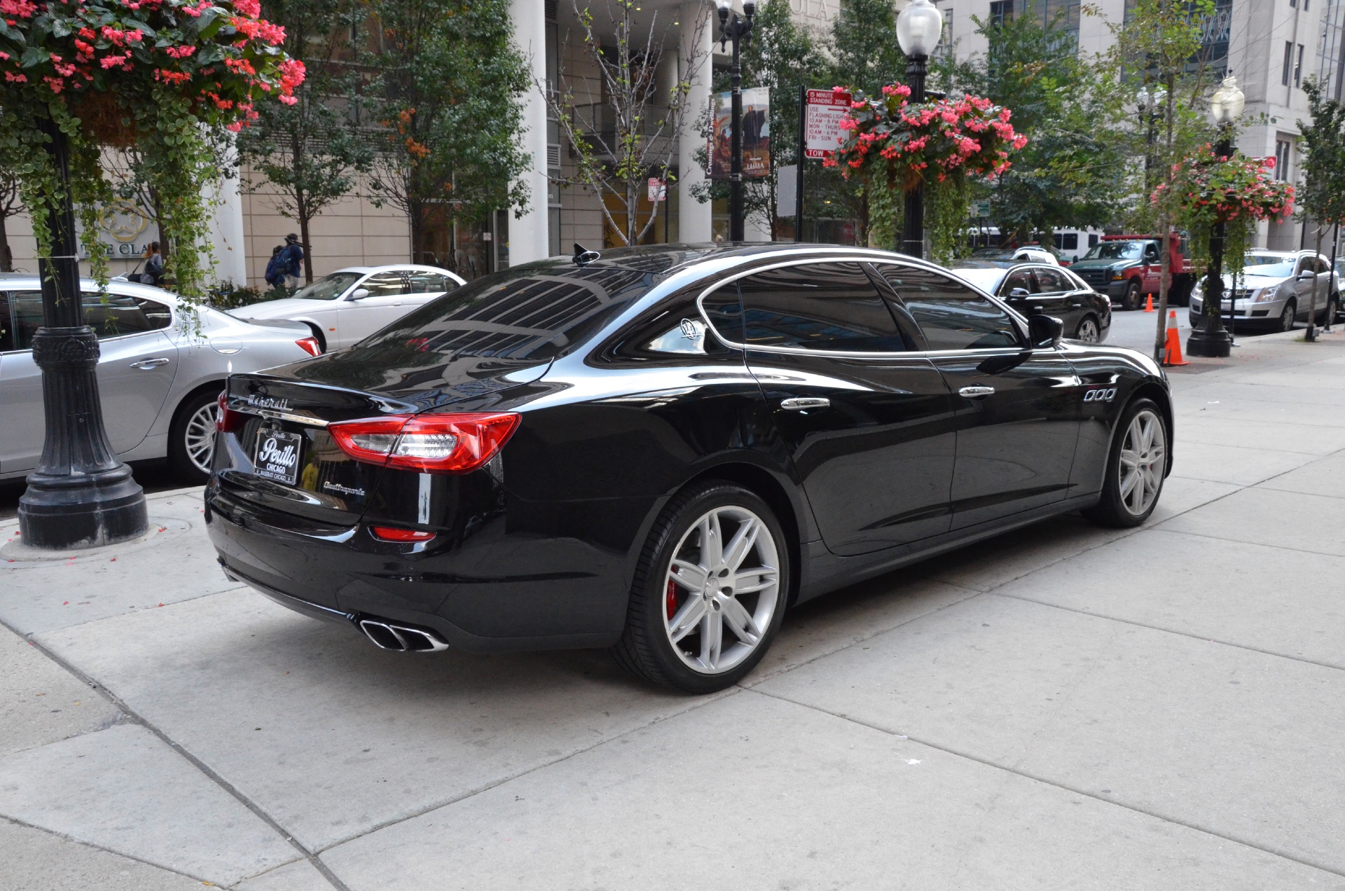 2014 maserati quattroporte gts sport gt s stock r158b s for sale near chicago il il. Black Bedroom Furniture Sets. Home Design Ideas