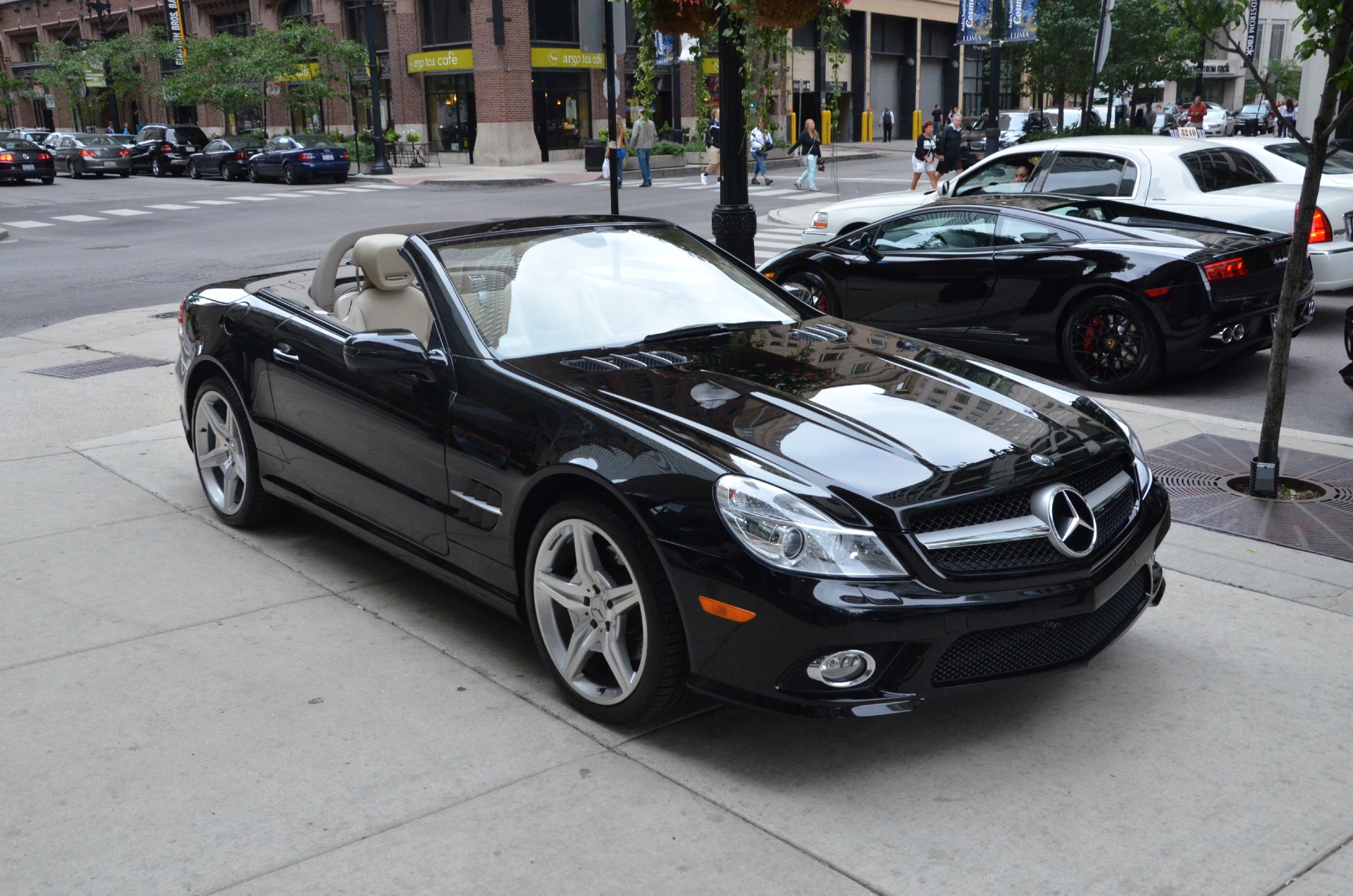 2009 mercedes benz sl class sl550 stock gc956a for sale near chicago il il mercedes benz dealer. Black Bedroom Furniture Sets. Home Design Ideas