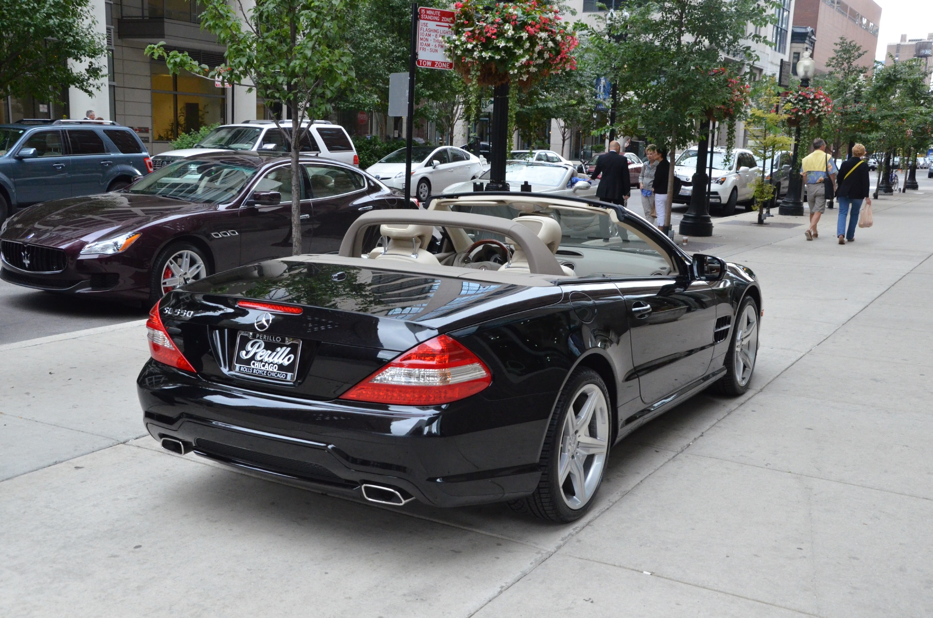 2009 mercedes benz sl class sl550 stock gc956a for sale for Mercedes benz parts chicago