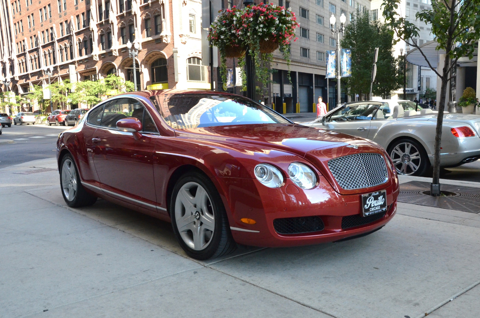 2005 bentley continental gt stock gc907aaa for sale near chicago il il bentley dealer. Black Bedroom Furniture Sets. Home Design Ideas