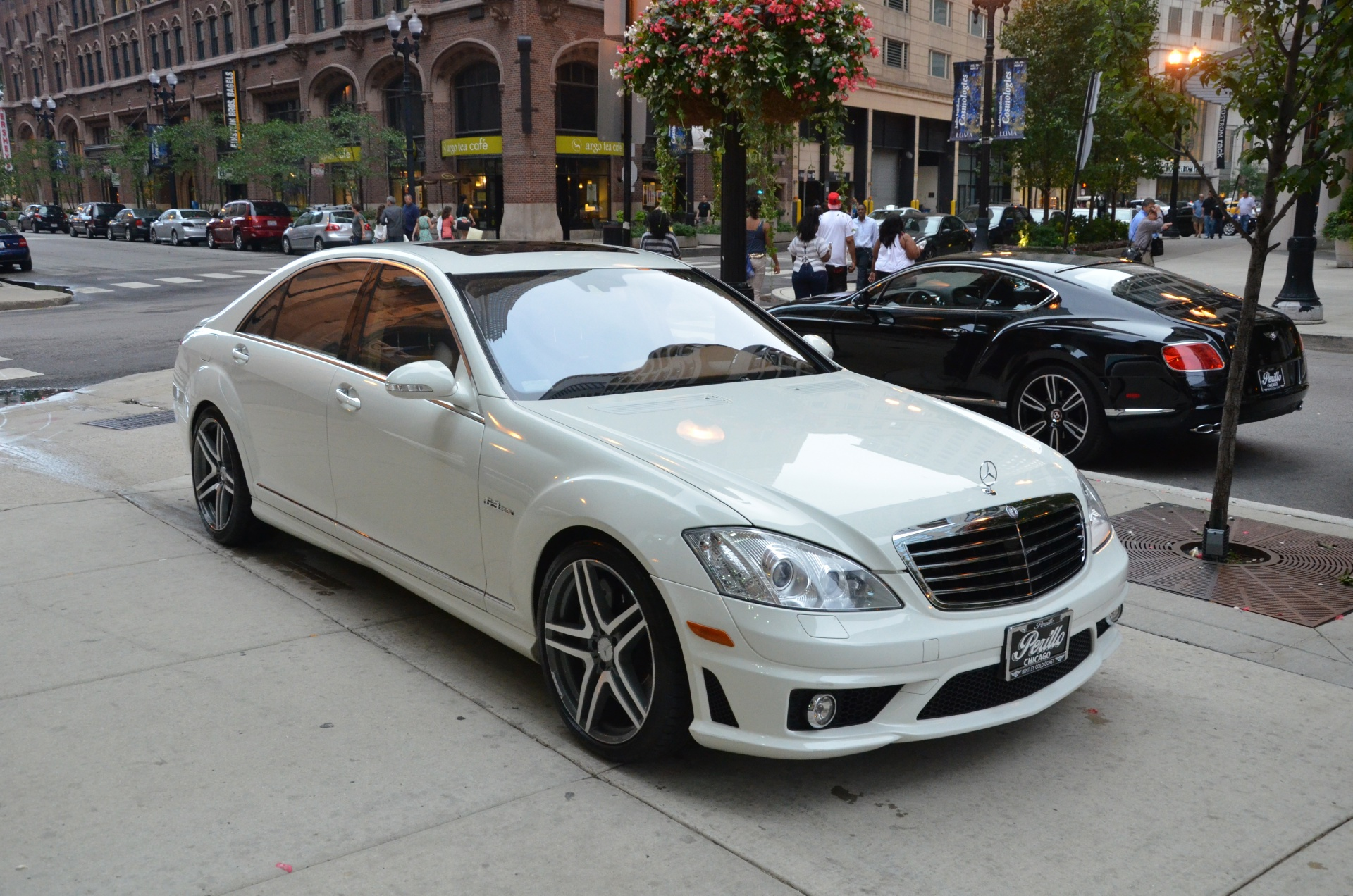 2008 mercedes benz s class s63 amg stock b357ab for sale for Mercedes benz dealerships in chicago area
