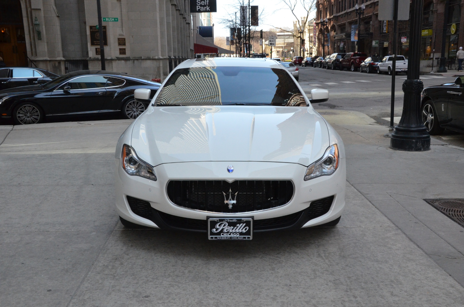 2014 maserati quattroporte sq4 s q4 stock gc1642a for sale near chicago il il maserati dealer. Black Bedroom Furniture Sets. Home Design Ideas