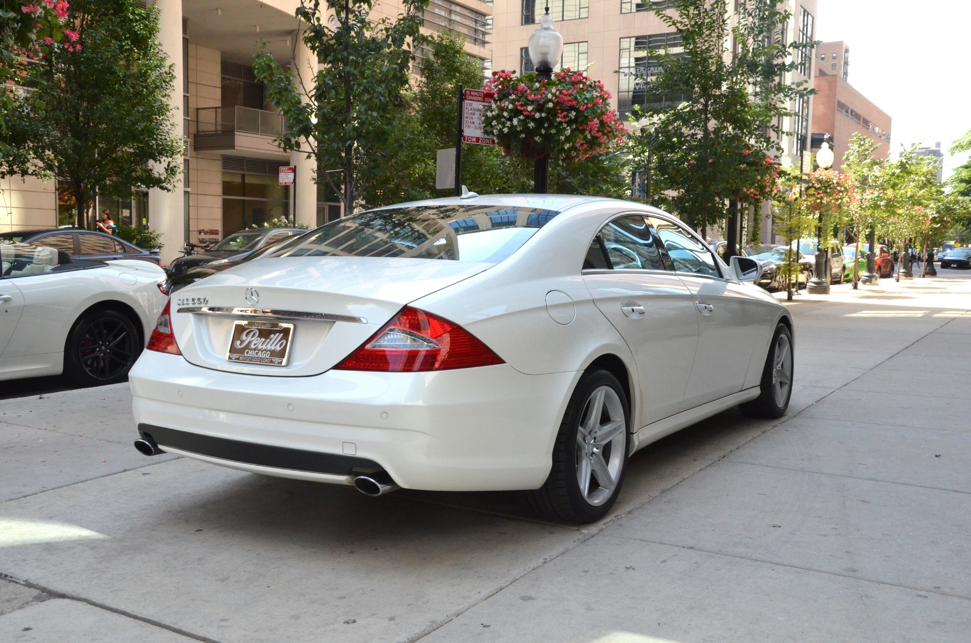2009 mercedes benz cls class cls550 stock gc1181 for for Mercedes benz dealerships in chicago area