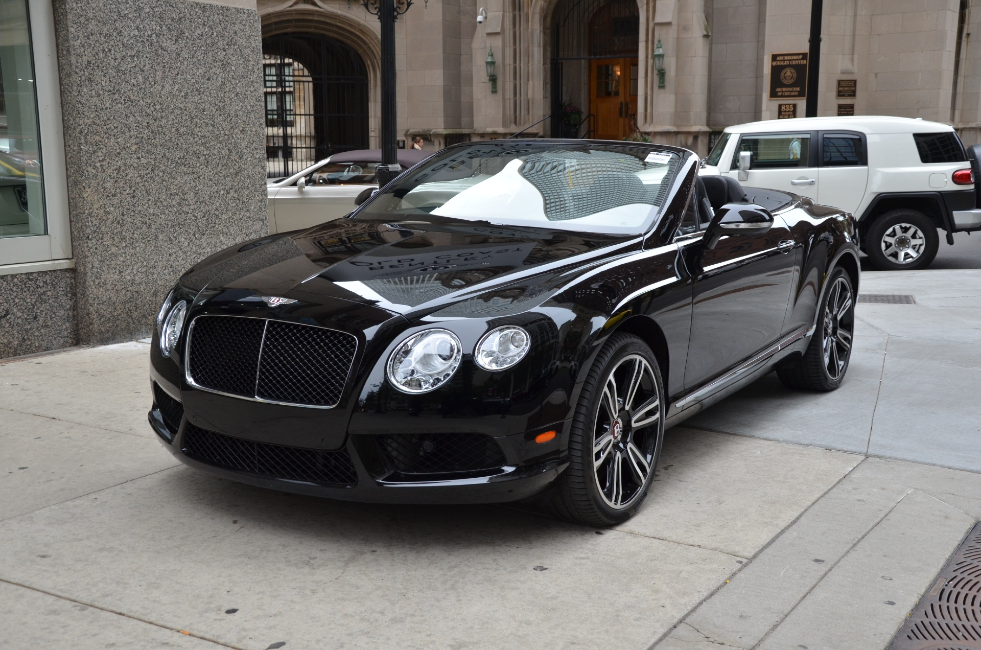 2014 bentley continental gtc v8 stock l218a for sale near chicago il il bentley dealer. Black Bedroom Furniture Sets. Home Design Ideas